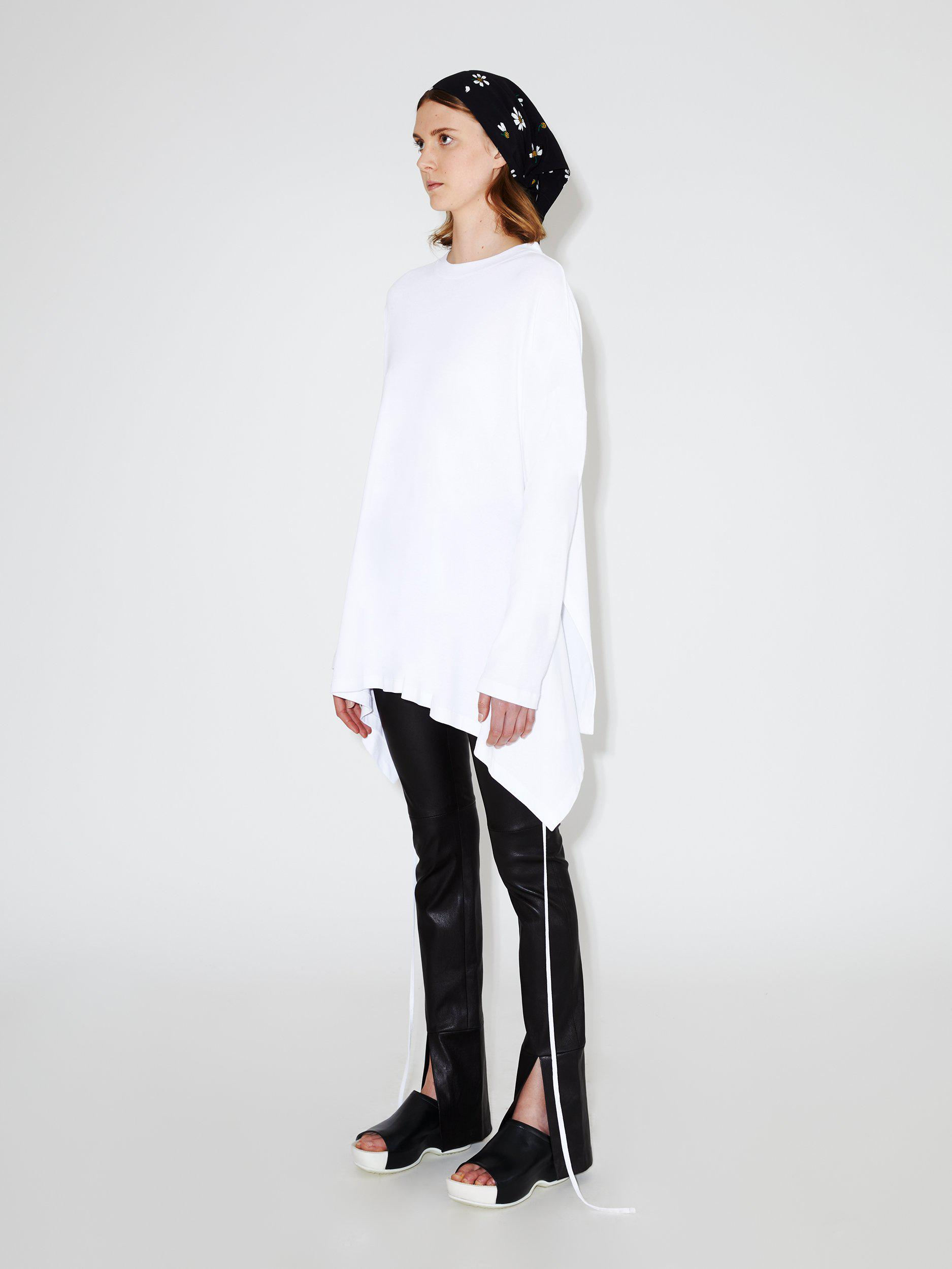 Long Sleeve Apron Front Top 2