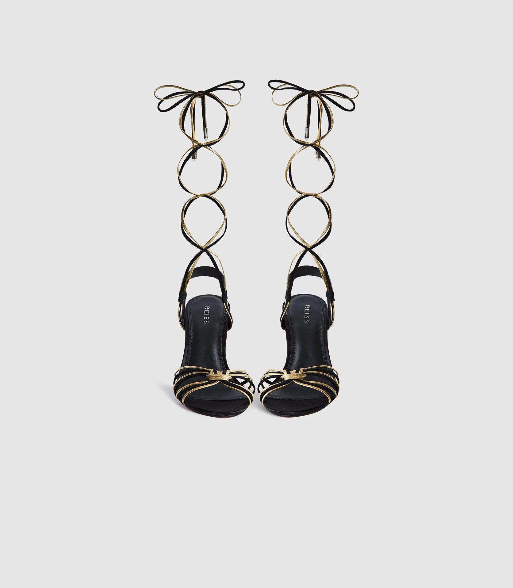 CASSIDY - STRAPPY HIGH HEELED SANDALS 2