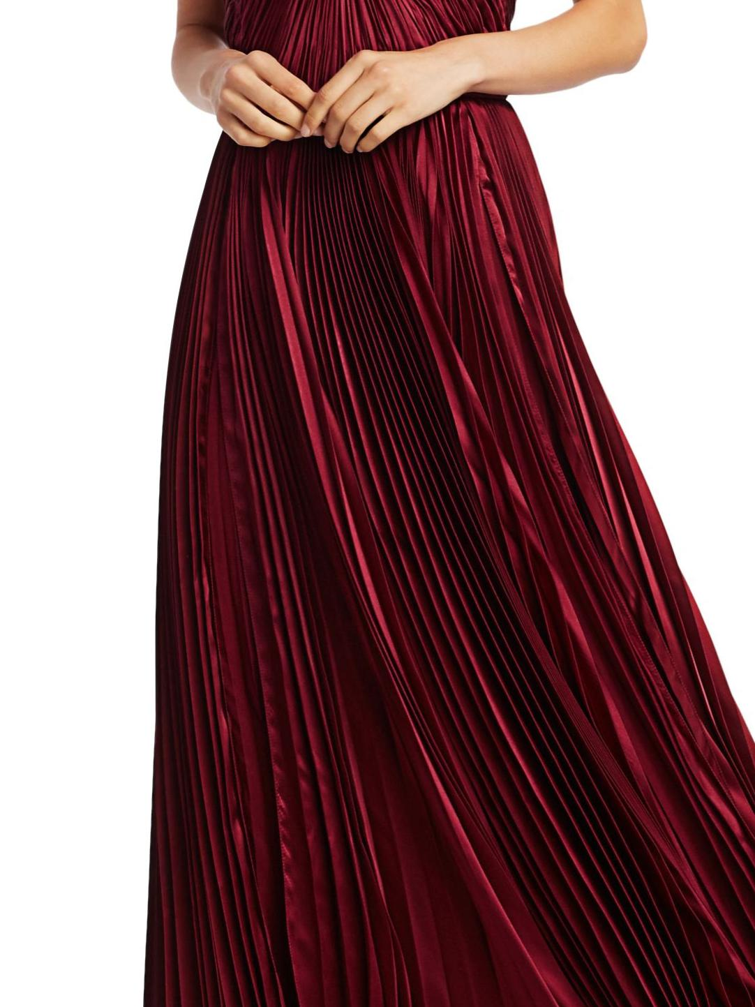 PLEATED TIERED GOWN 4