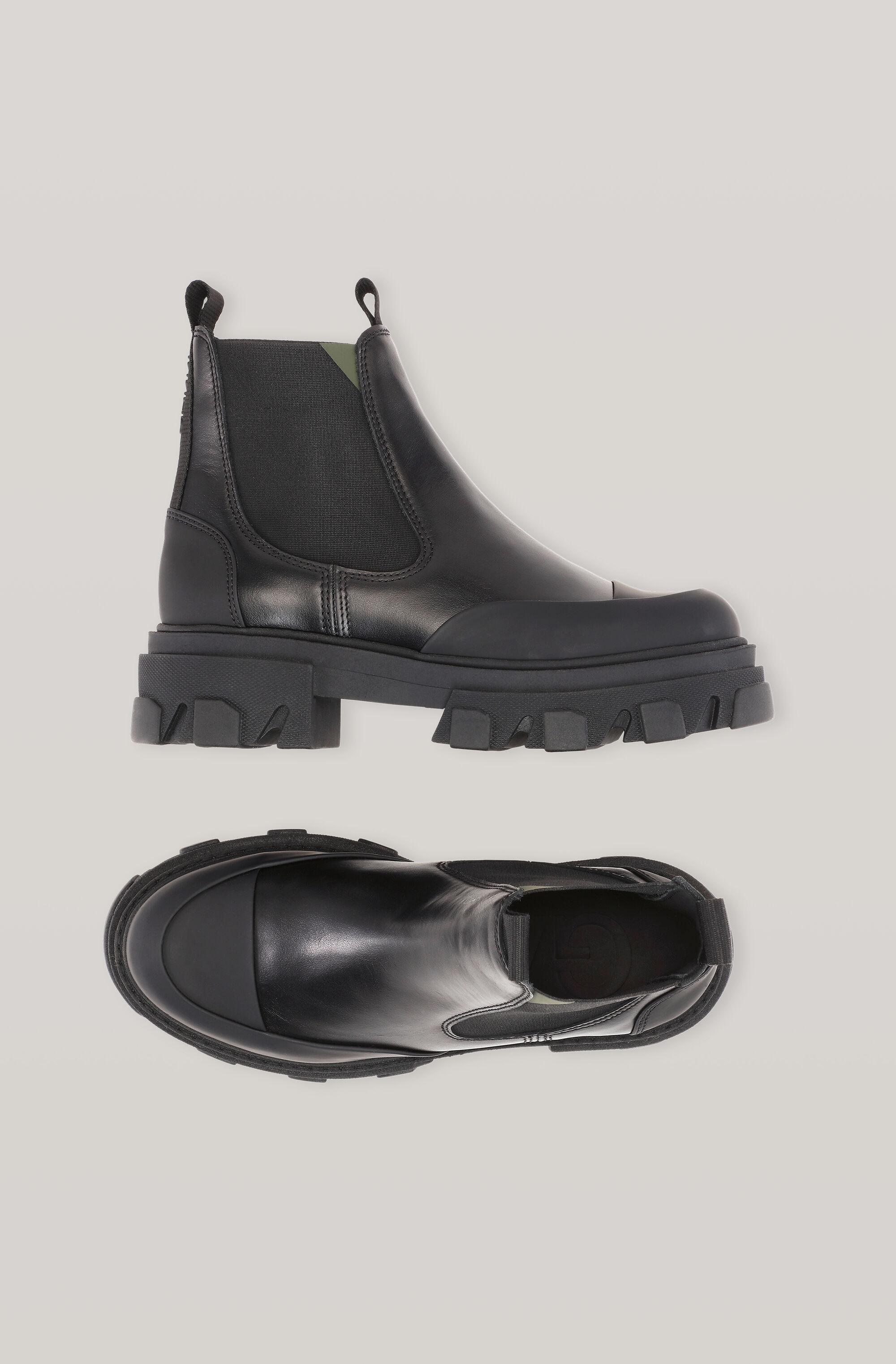 Calf Leather Low Chelsea Boot 1