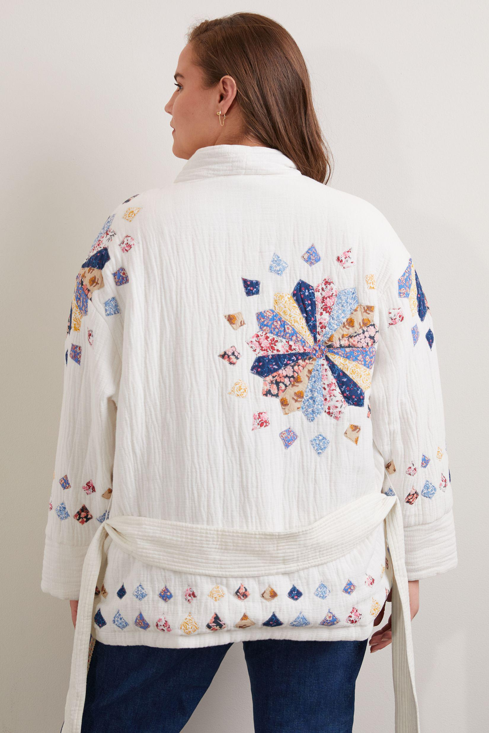 Quilted Patchwork Jacket 5