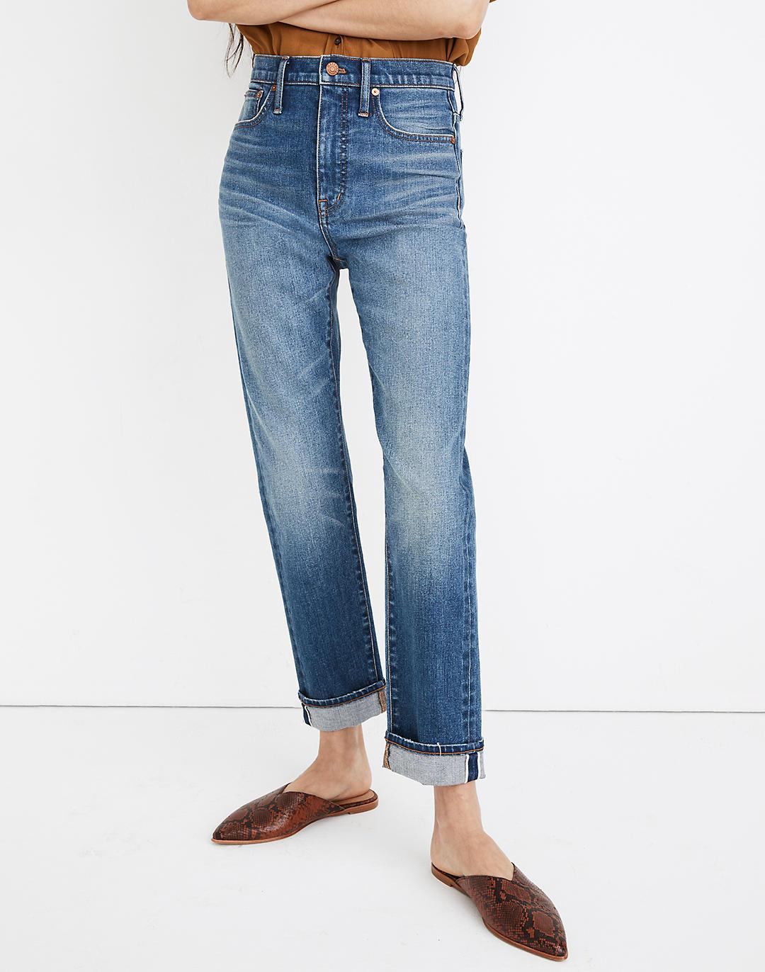 Tall Classic Straight Jeans in Ives Wash: Selvedge Edition 3