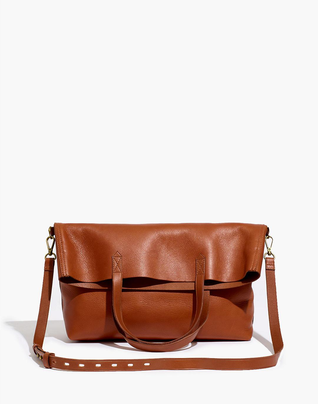 The Foldover Transport Tote