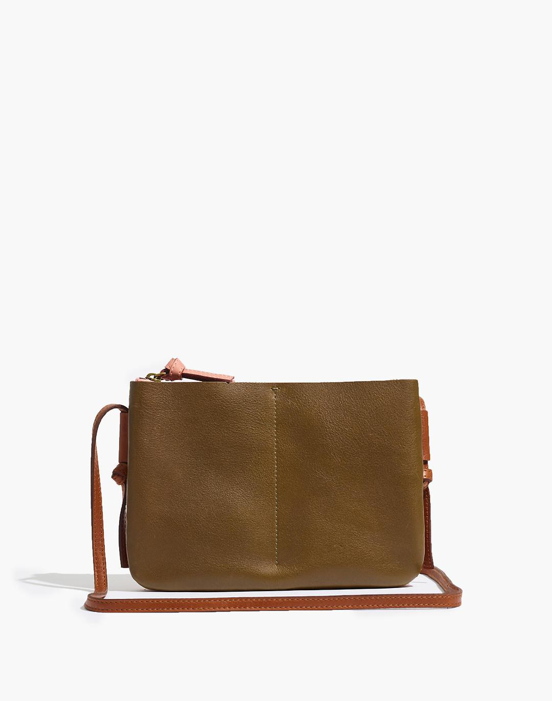 The Knotted Crossbody Bag in Colorblock
