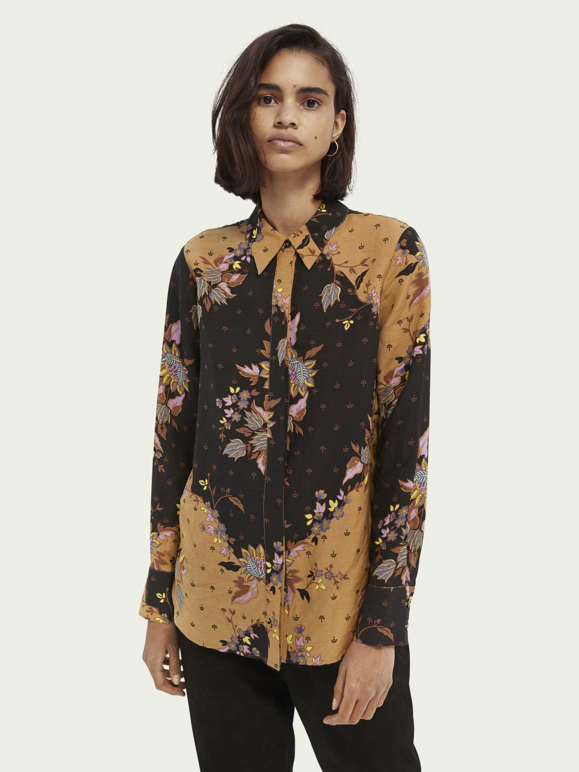 Relaxed-fit printed shirt