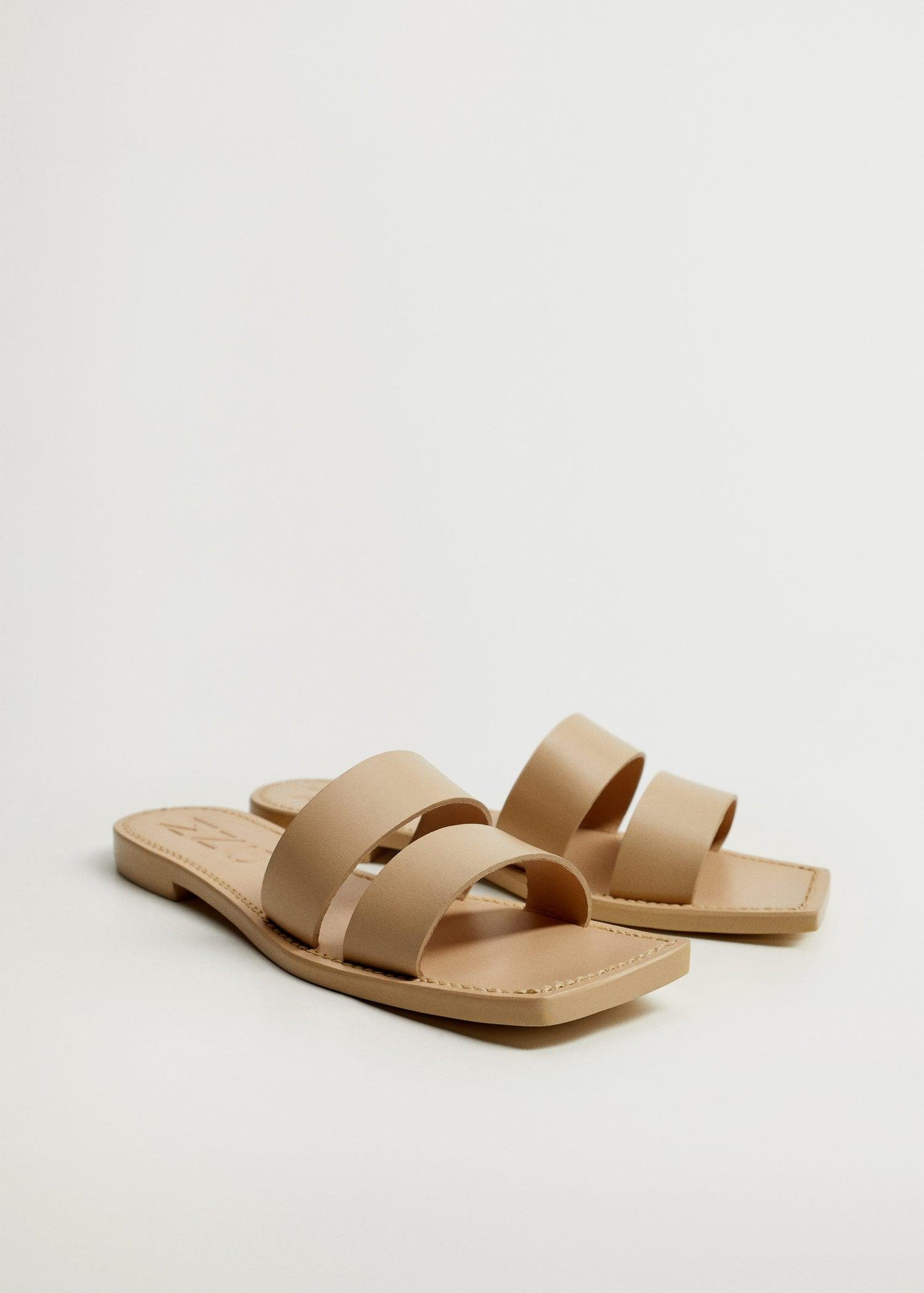 Leather straps sandals 3