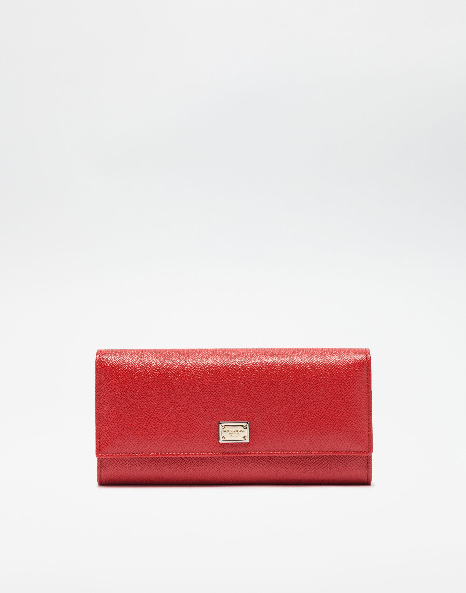 Continental wallet in dauphine leather 0