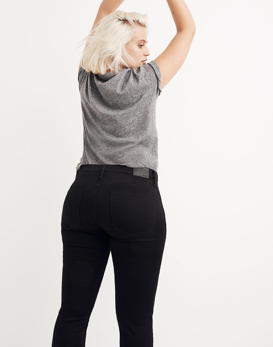 """8"""" Skinny Jeans in Carbondale Wash 2"""