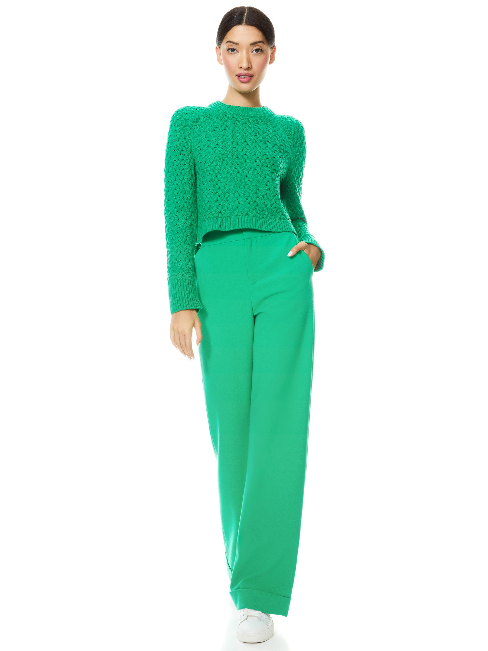 LETA CROPPED PULLOVER 2
