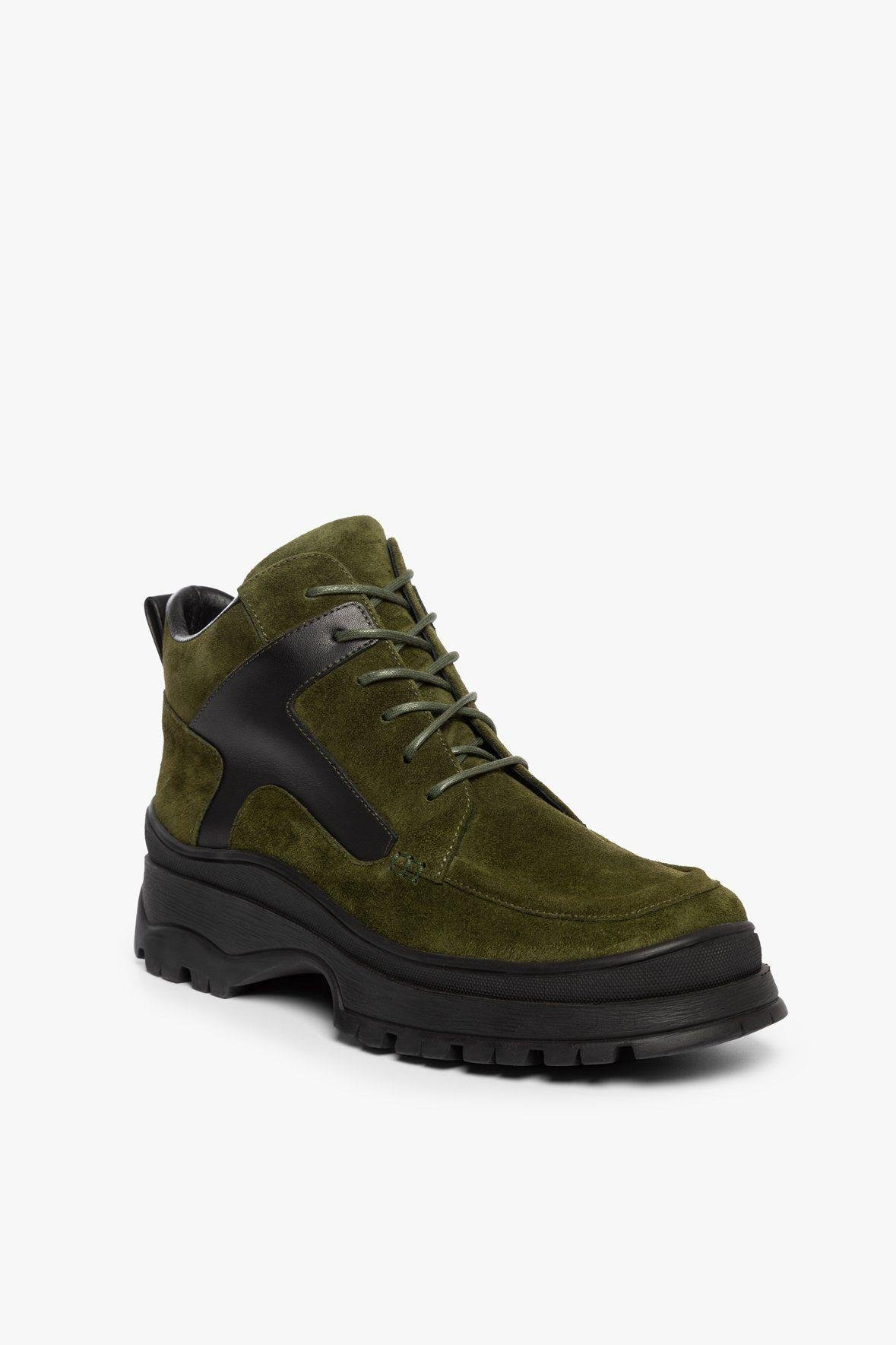 ROCKY BOOT | OLIVE SUEDE