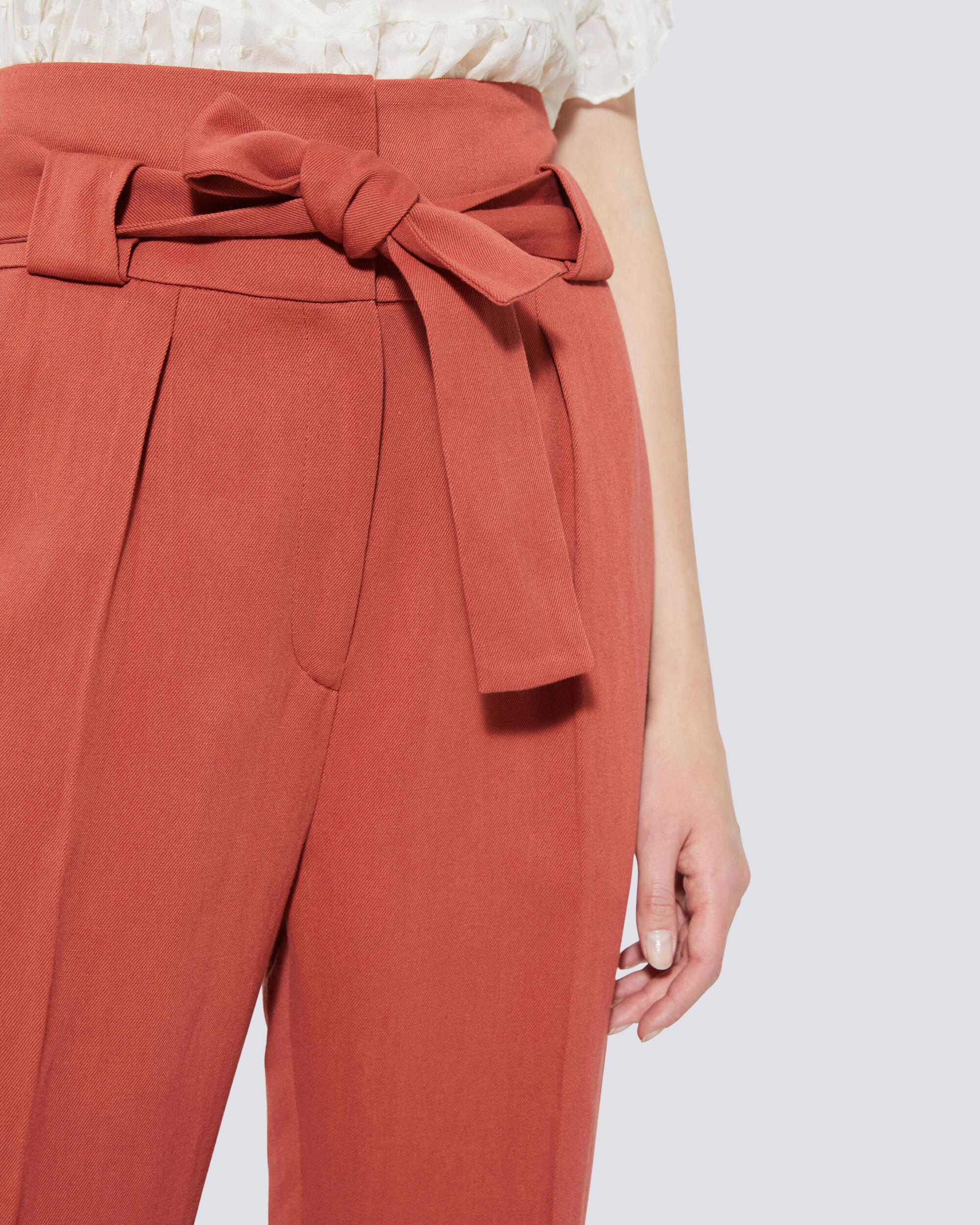 APOLLONIA BELTED WIDE LEG TROUSERS 3