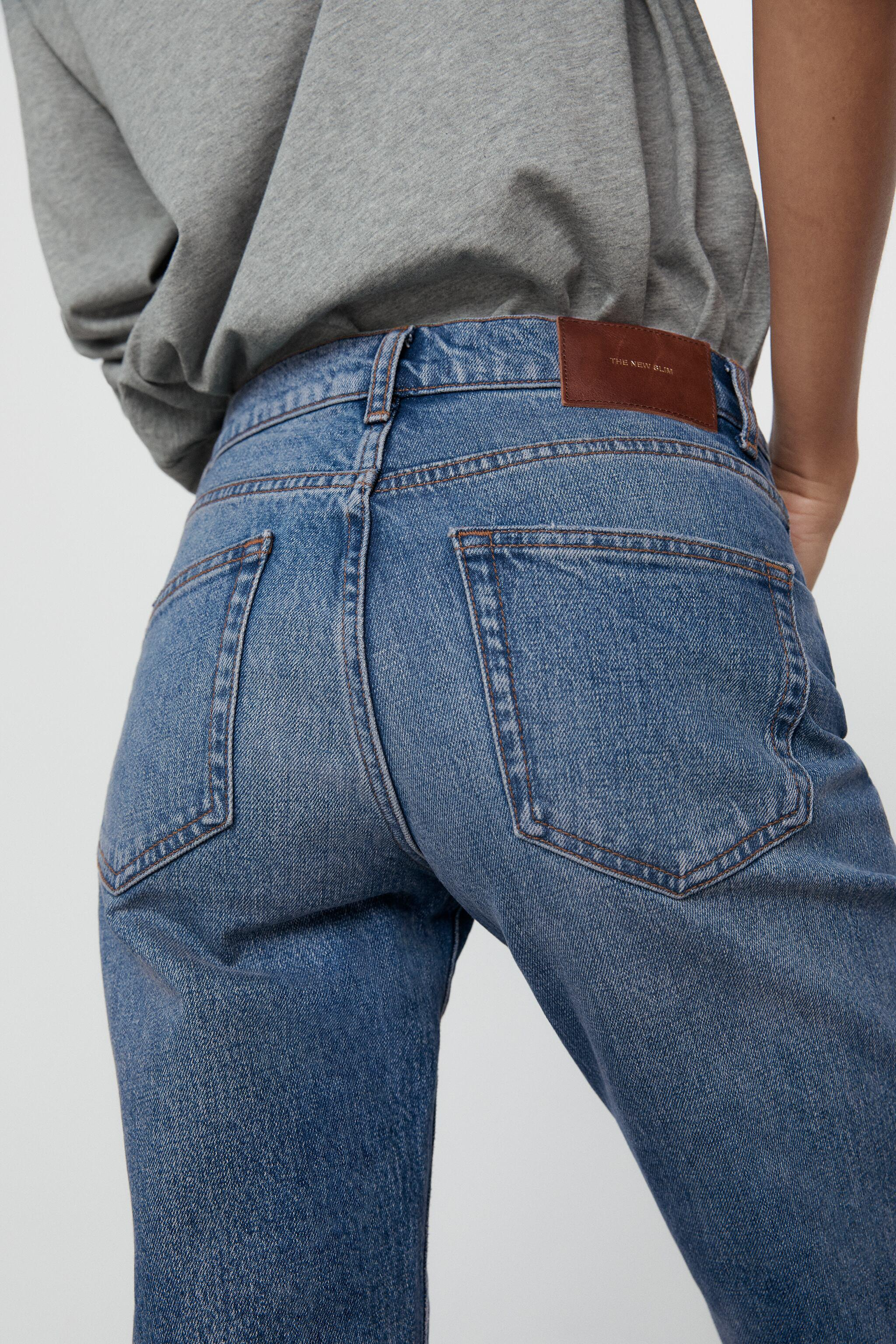 ZW THE NEW SLIM CROPPED JEANS 3