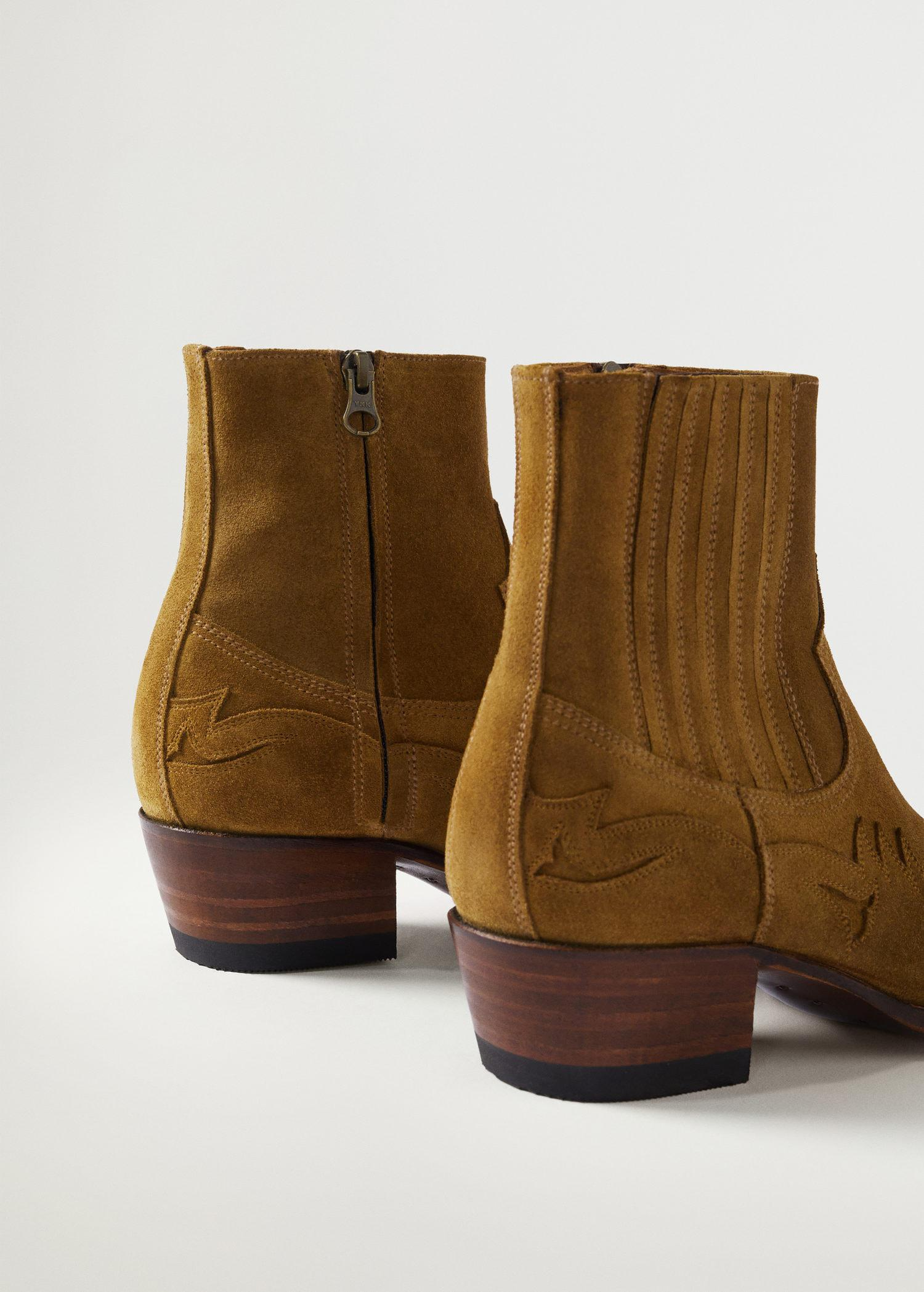 Goodyear welted leather boots 2