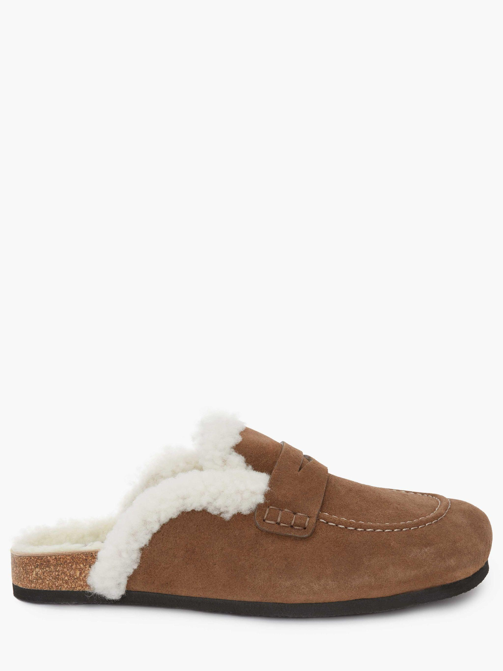 WOMEN'S SHEARLING LOAFER MULES