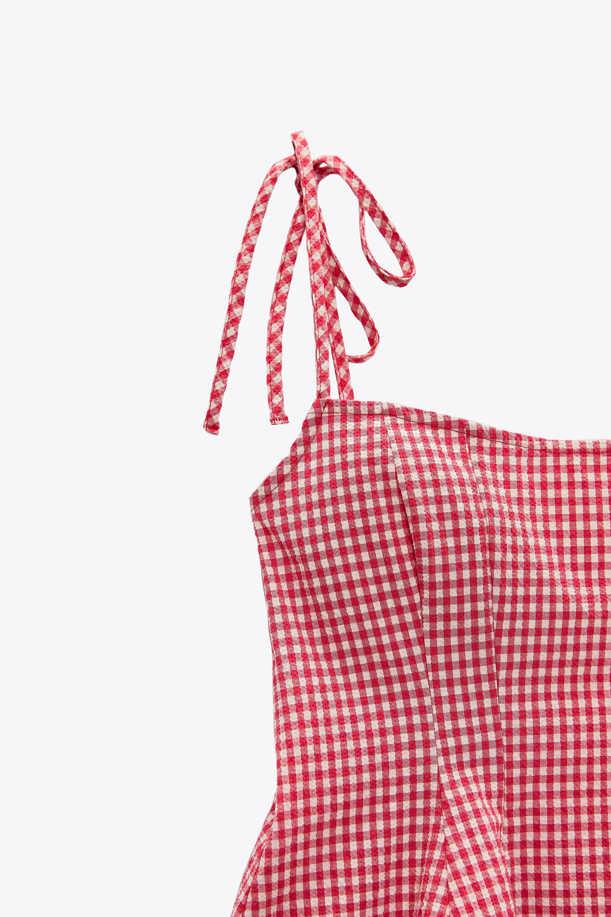 GINGHAM TOP 5