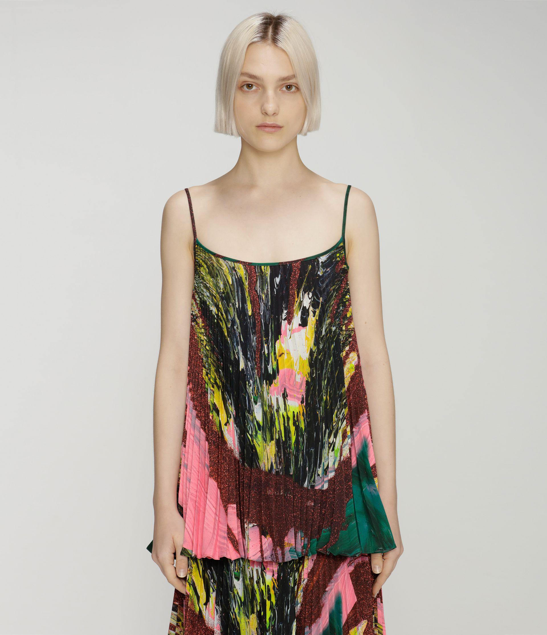 Mindscape pleated top
