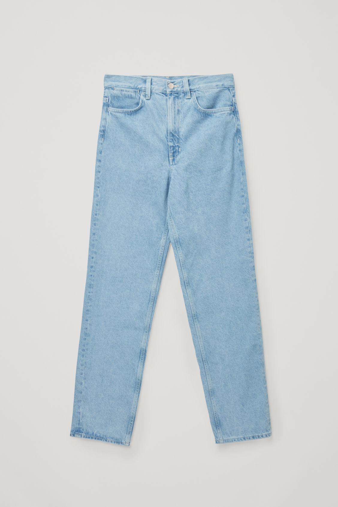 STRAIGHT MID-RISE JEANS 7