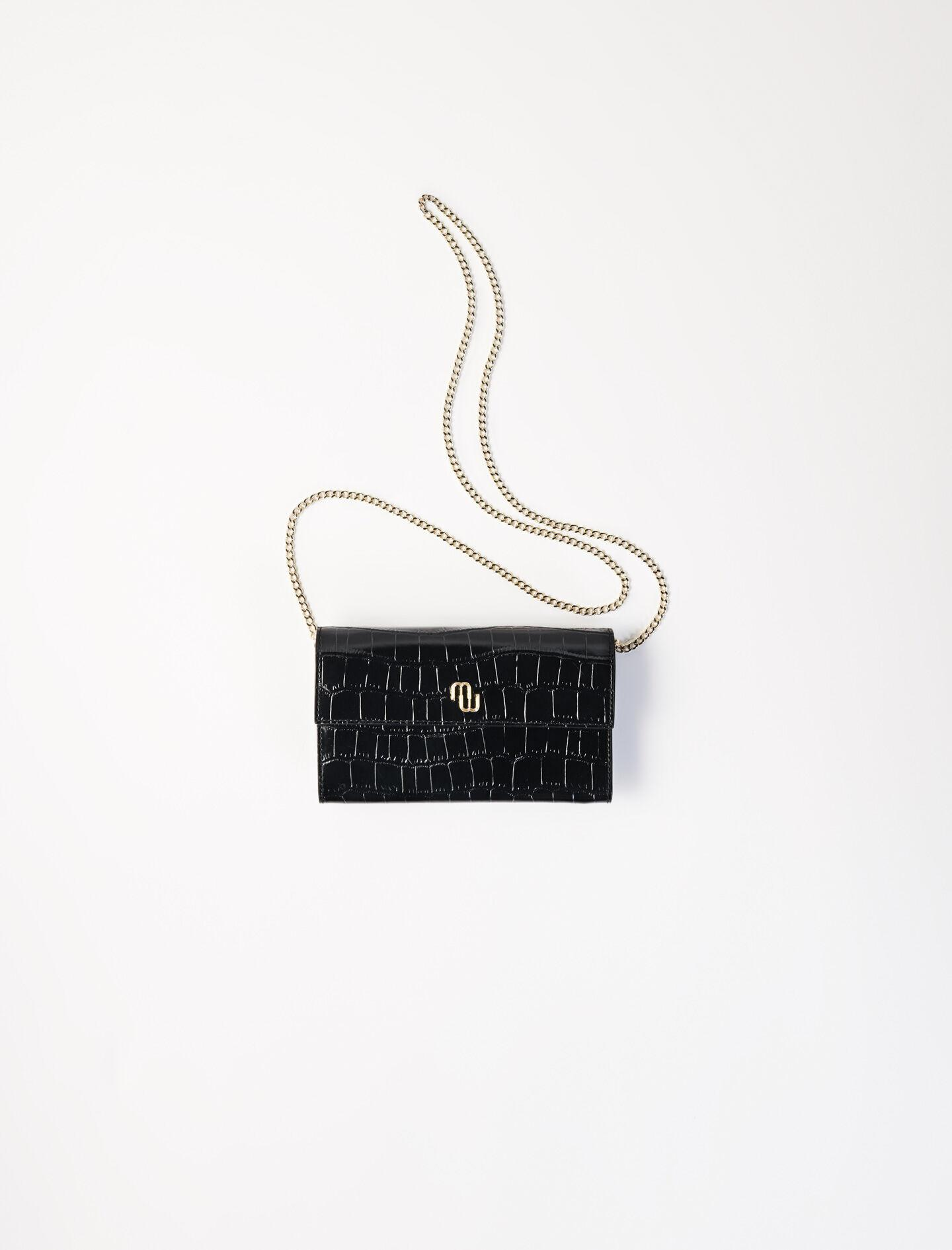CROCODILE WALLET WITH CHAIN 1
