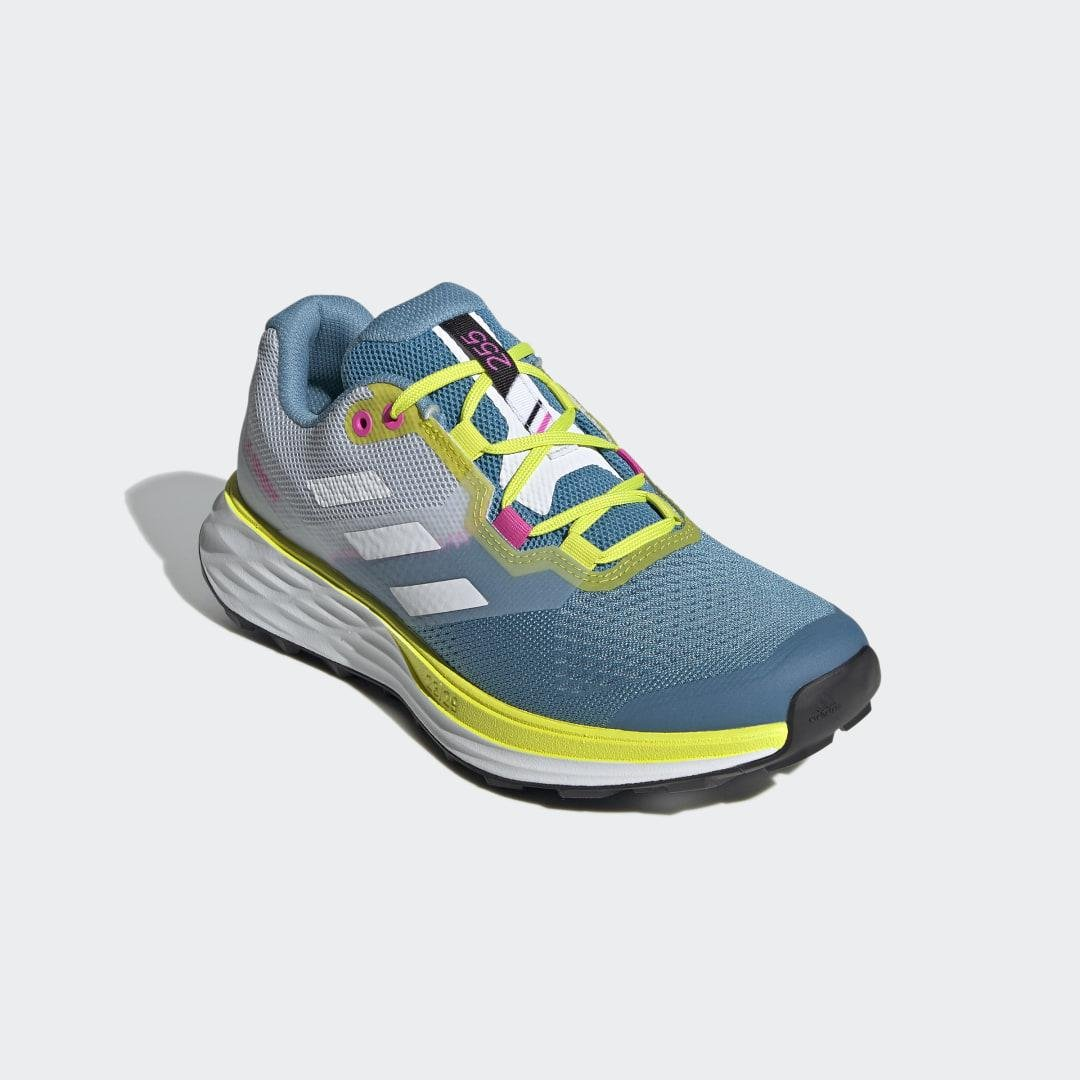 Terrex Two Flow Trail Running Shoes Hazy Blue