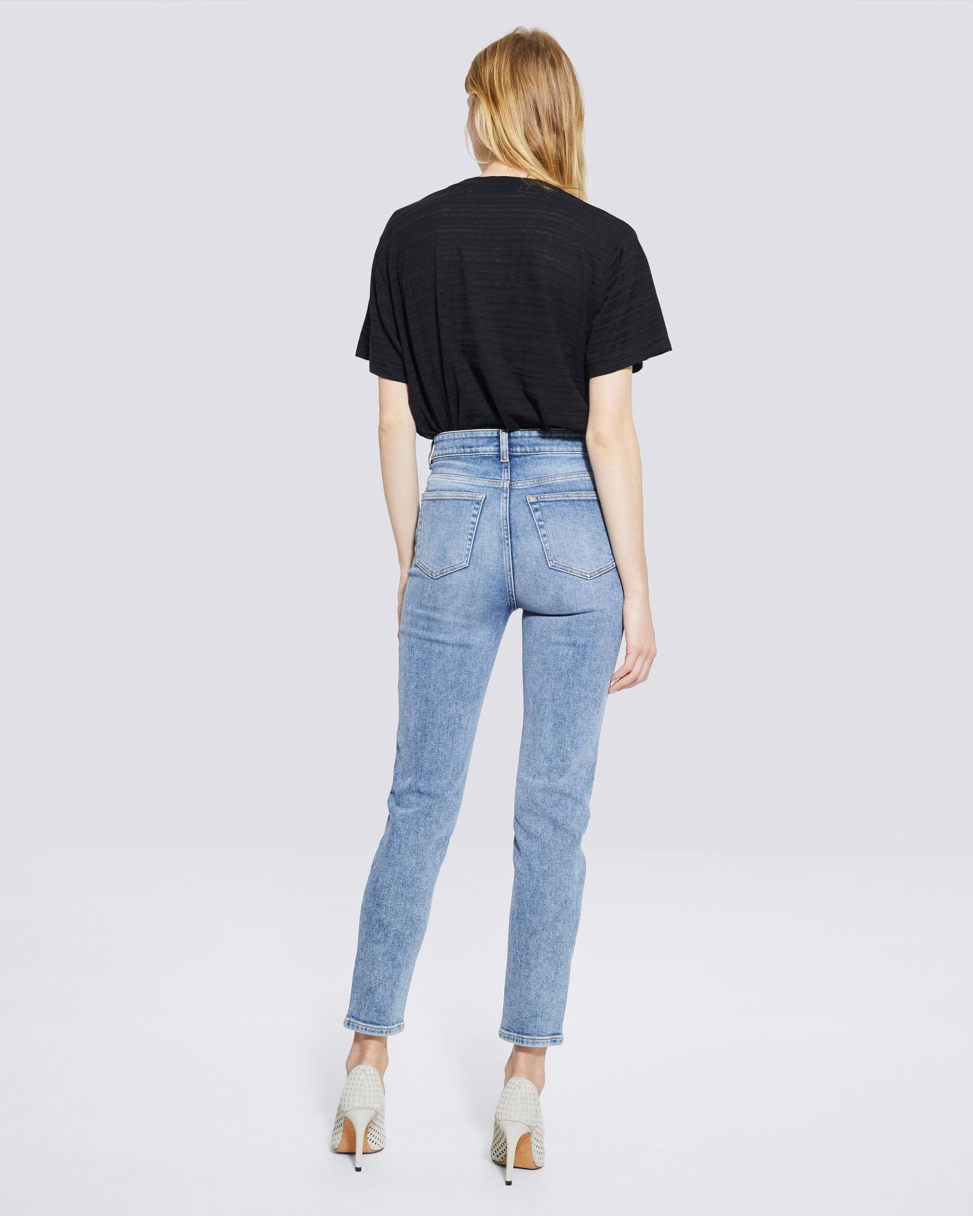GALLOWAY MID RISE SKINNY ANKLE JEANS 2