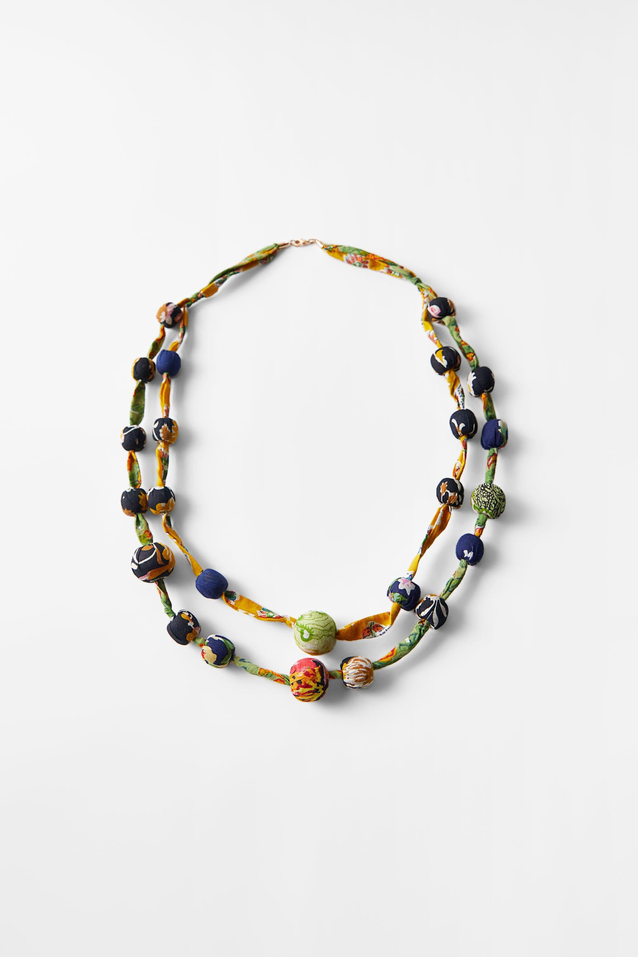 LONG BEADED NECKLACE 0