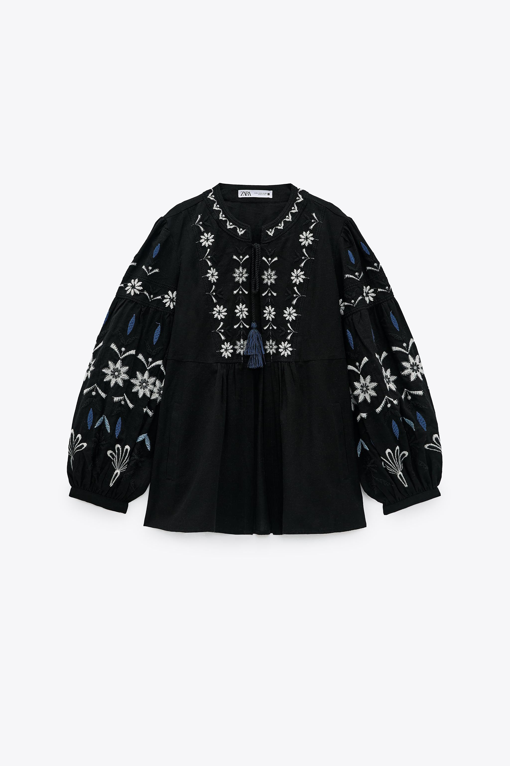 EMBROIDERED COTTON OVERSHIRT 5