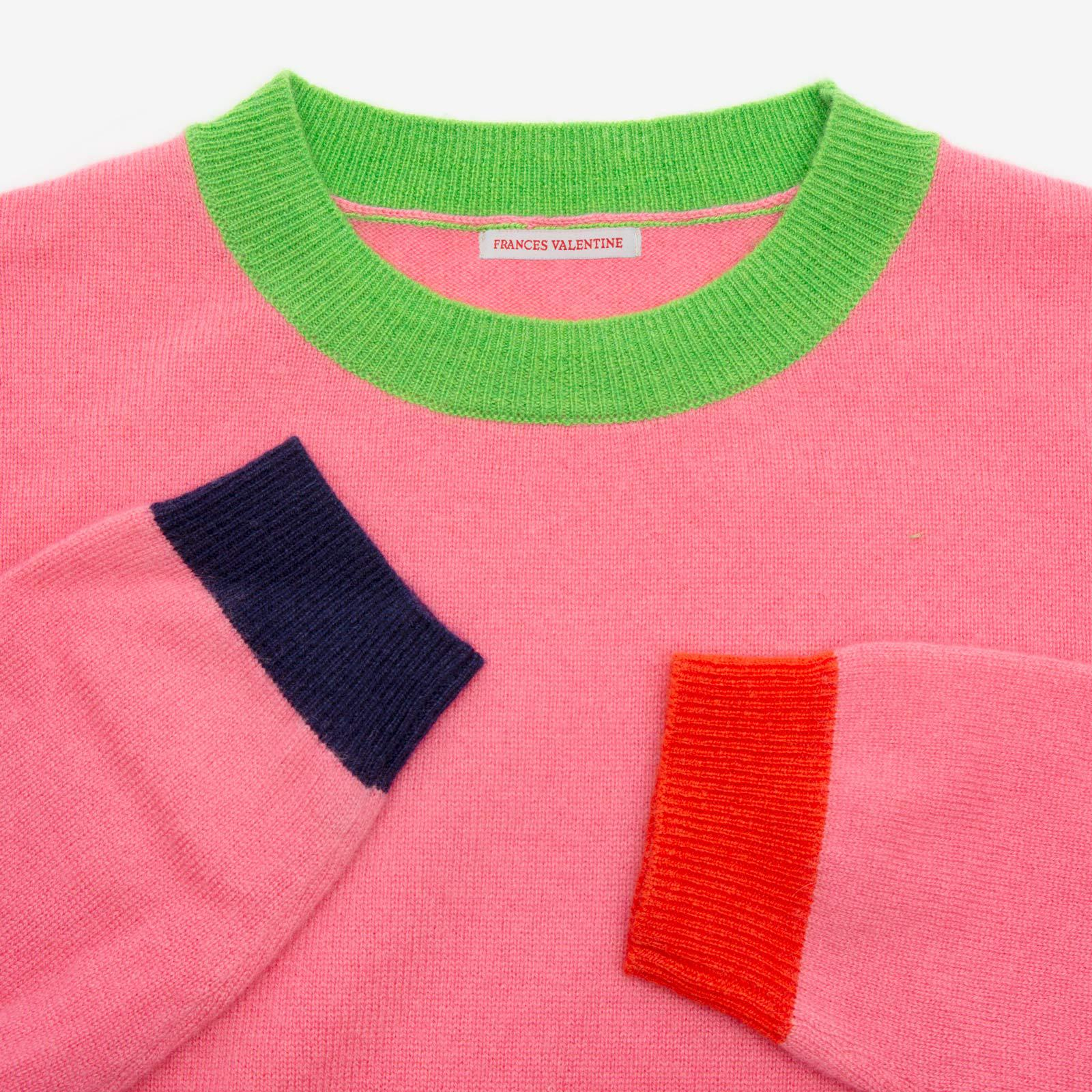 Betts Cashmere Sweater Pink 3