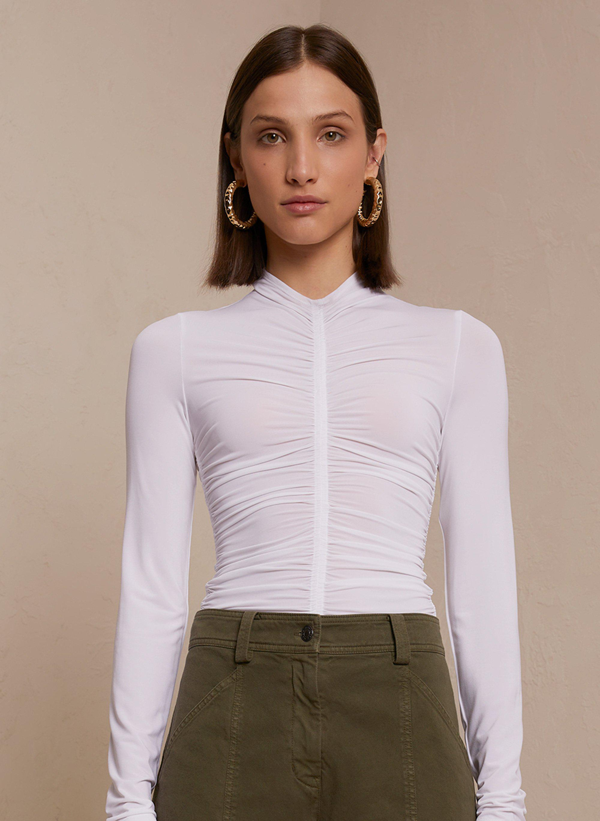 Ansel Crepe Jersey Top