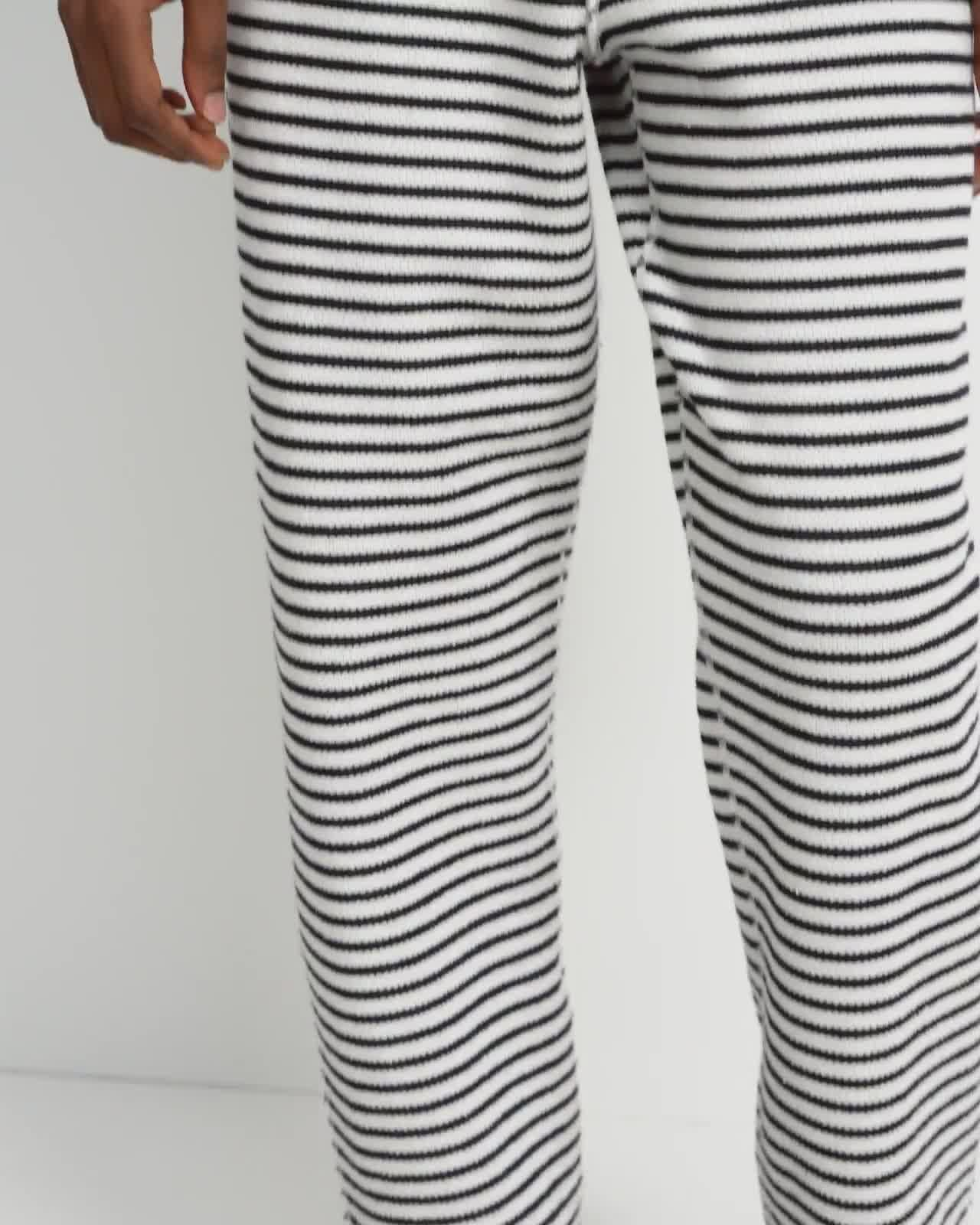 Reversible Notch Jogger in Terry Cotton 5