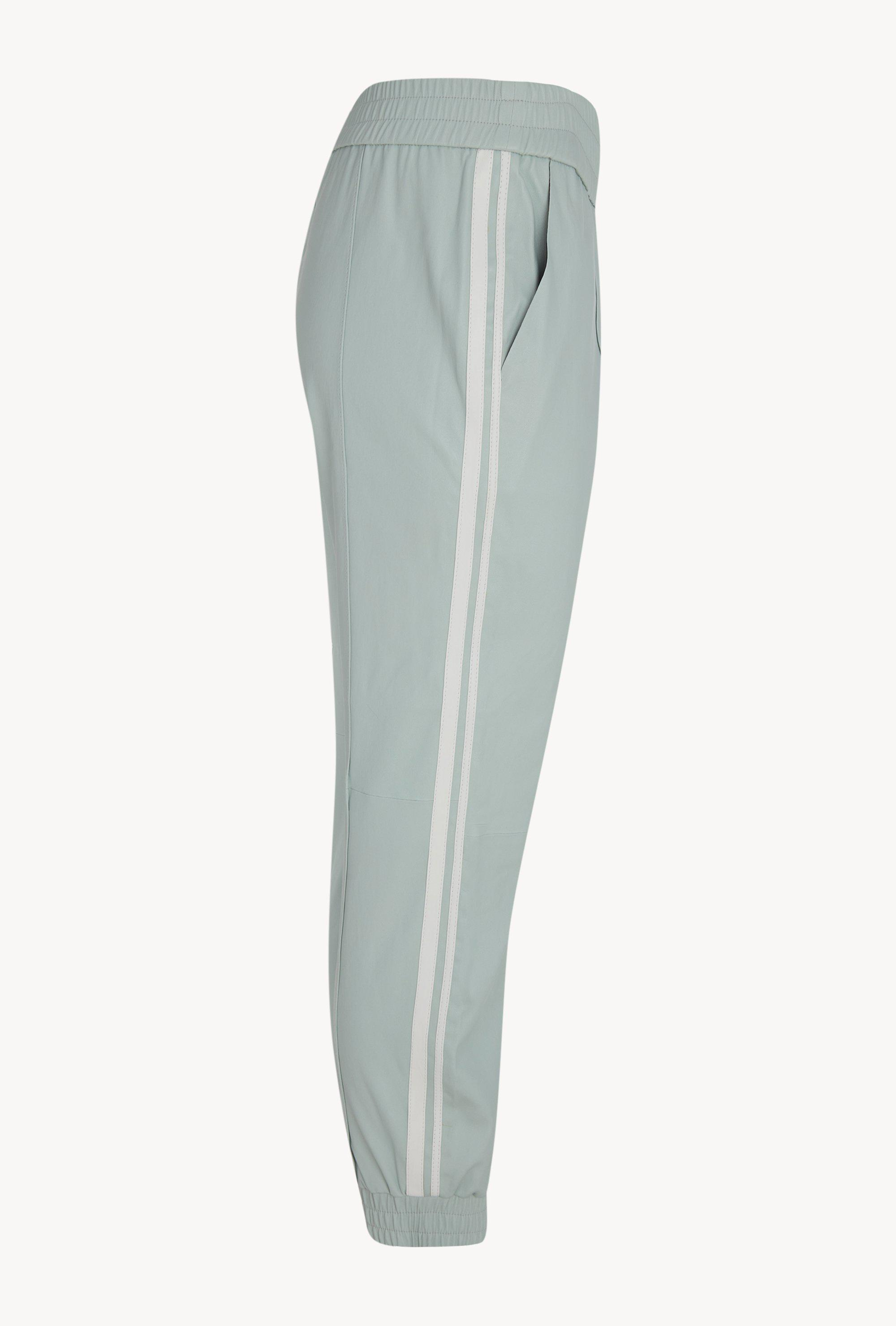 Mint Athletic Slim Fit Leather Jogger