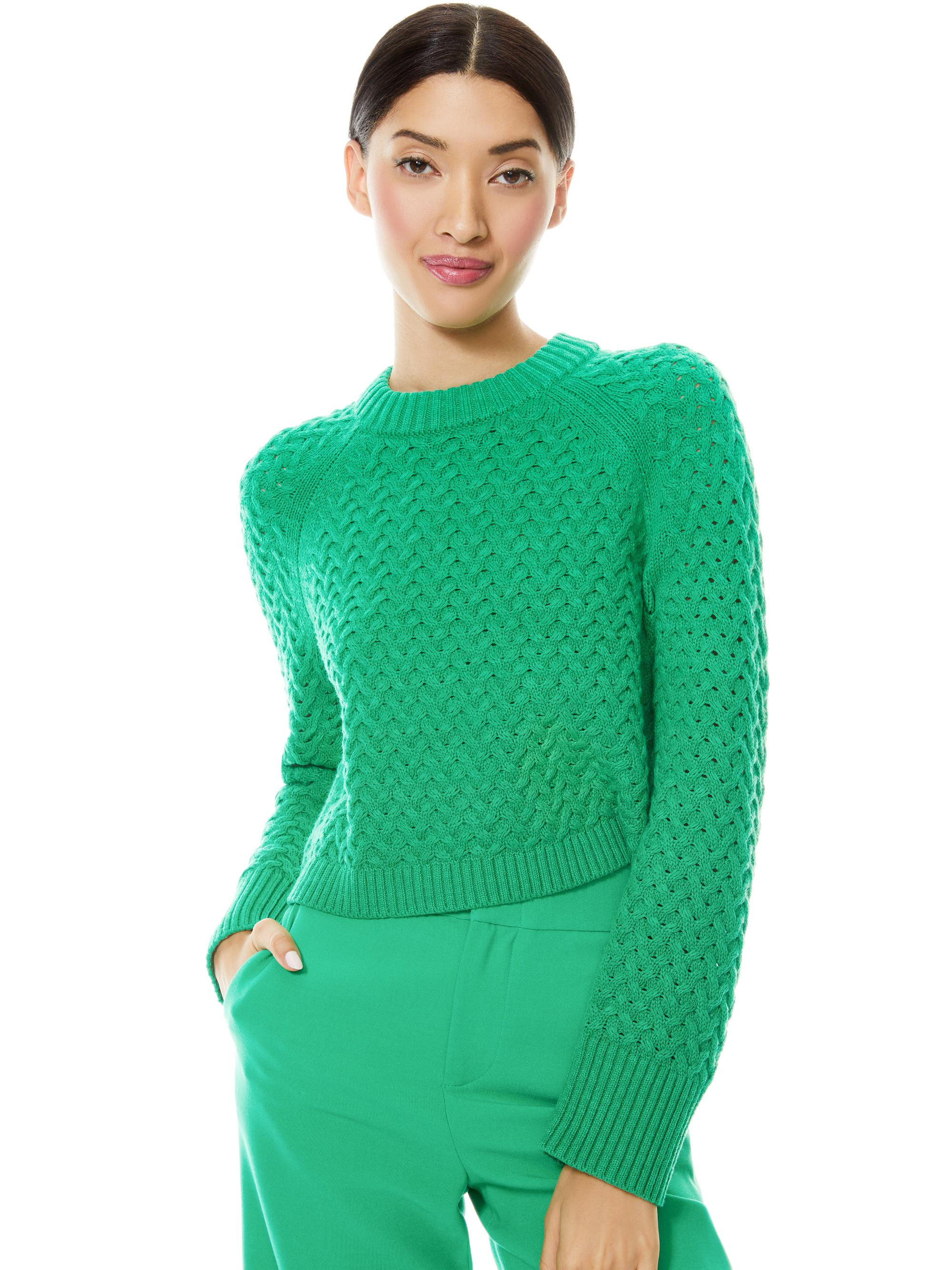 LETA CROPPED PULLOVER 0