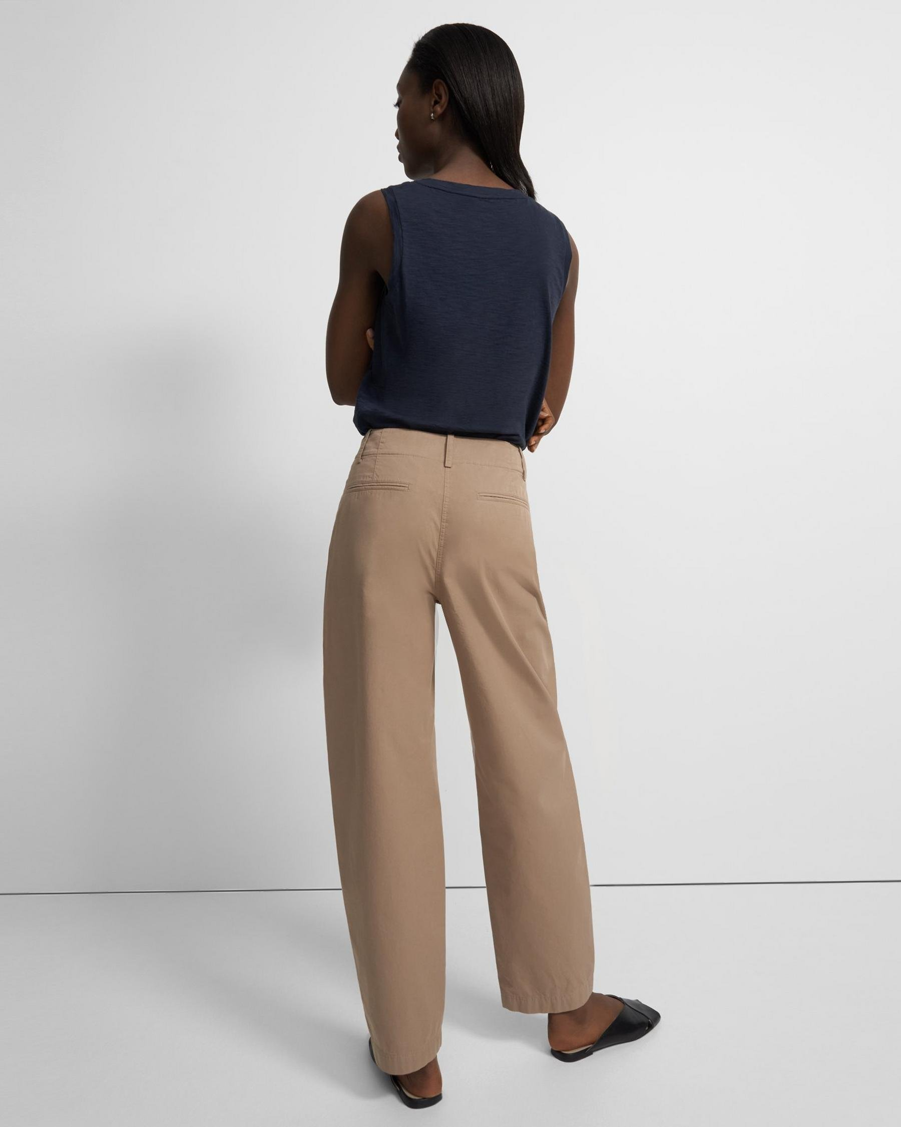 Curve Pant in Garment-Dyed Cotton 2