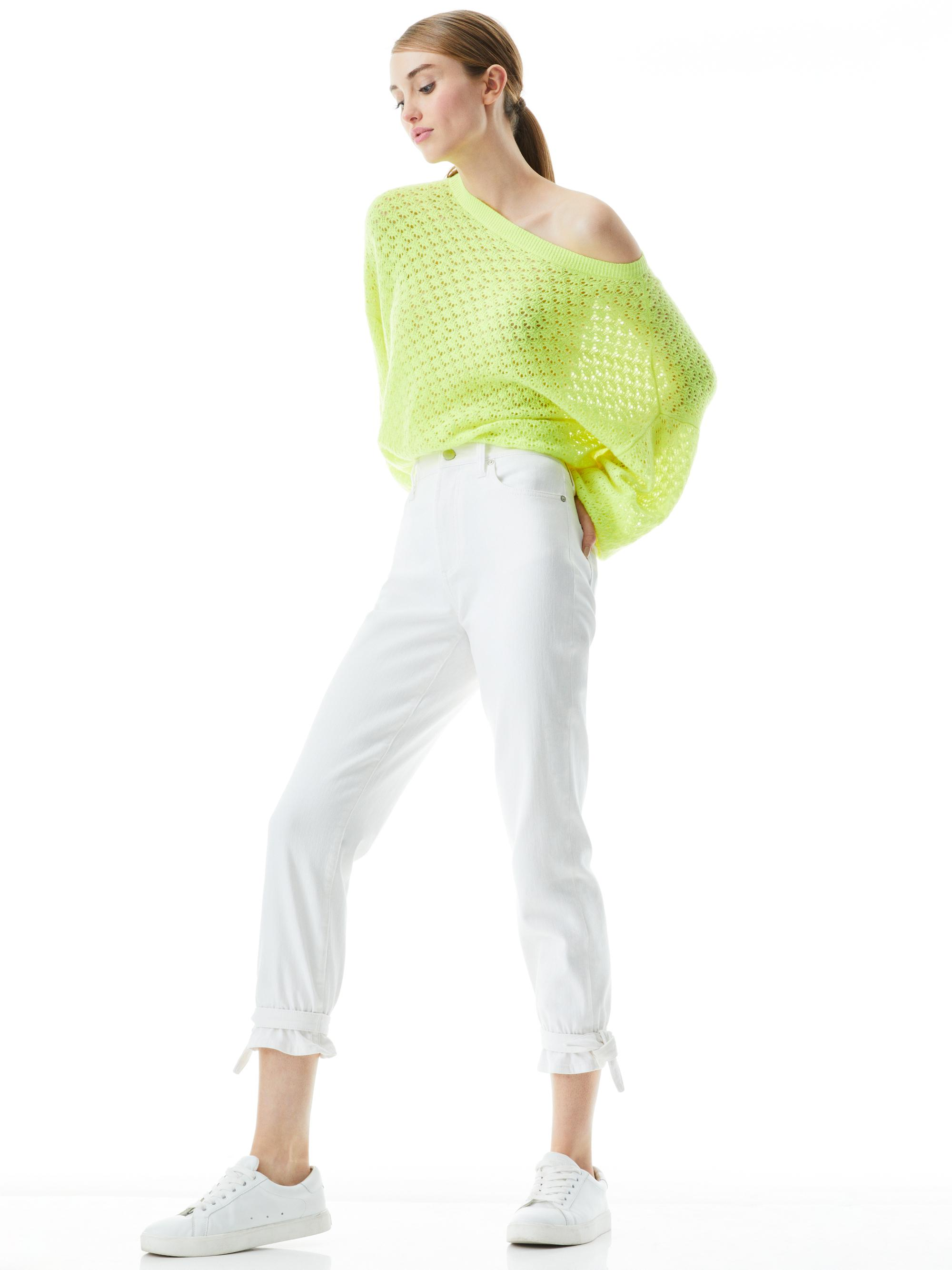 AMAZING HIGH RISE TIE PANT 4