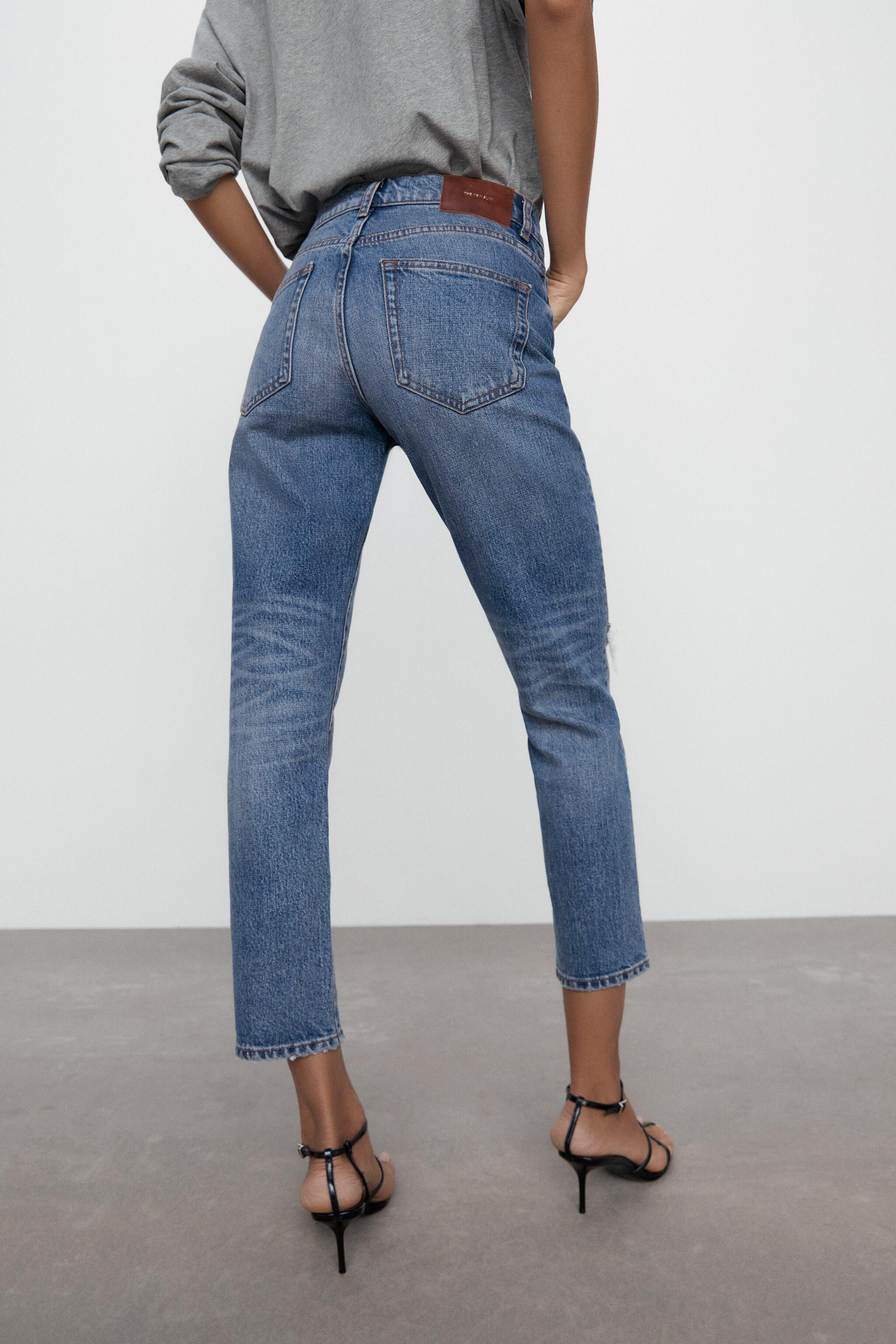 ZW THE NEW SLIM CROPPED JEANS 6
