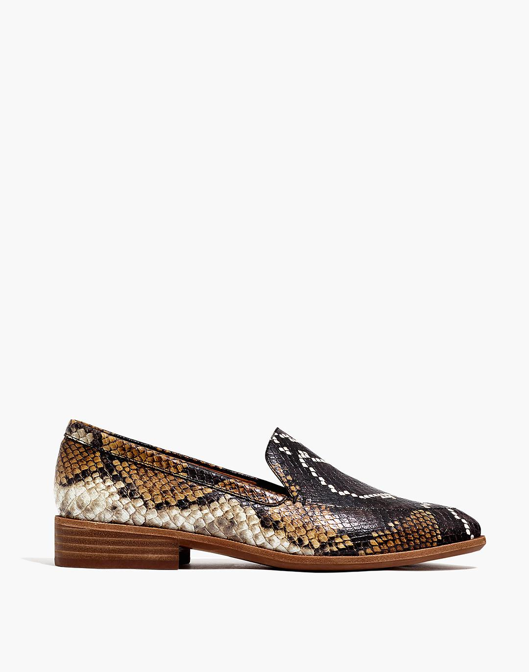 The Frances Loafer in Snake Embossed Leather 1