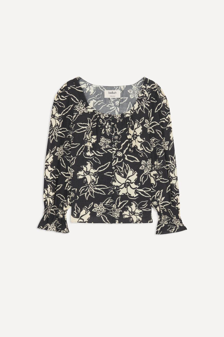 sessee.FLORAL BLOUSE 4