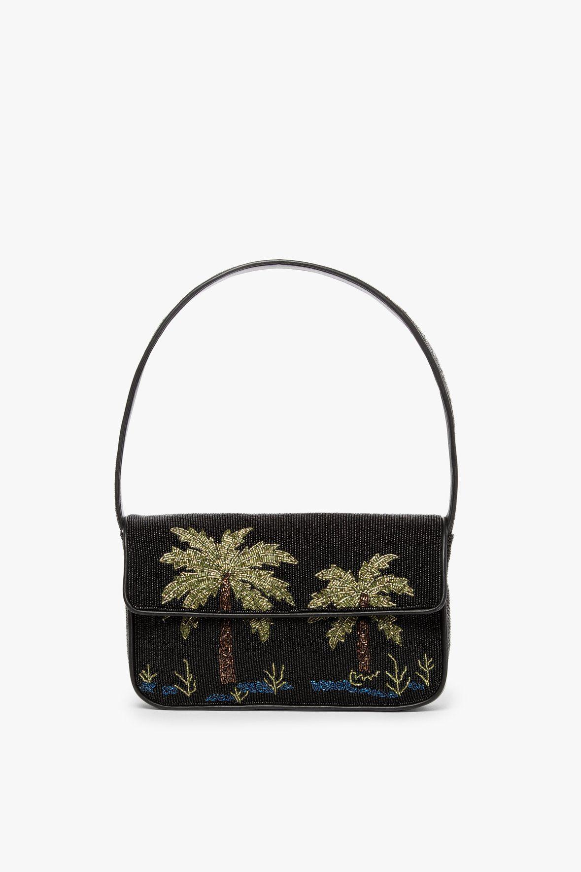 TOMMY BEADED BAG | PALM