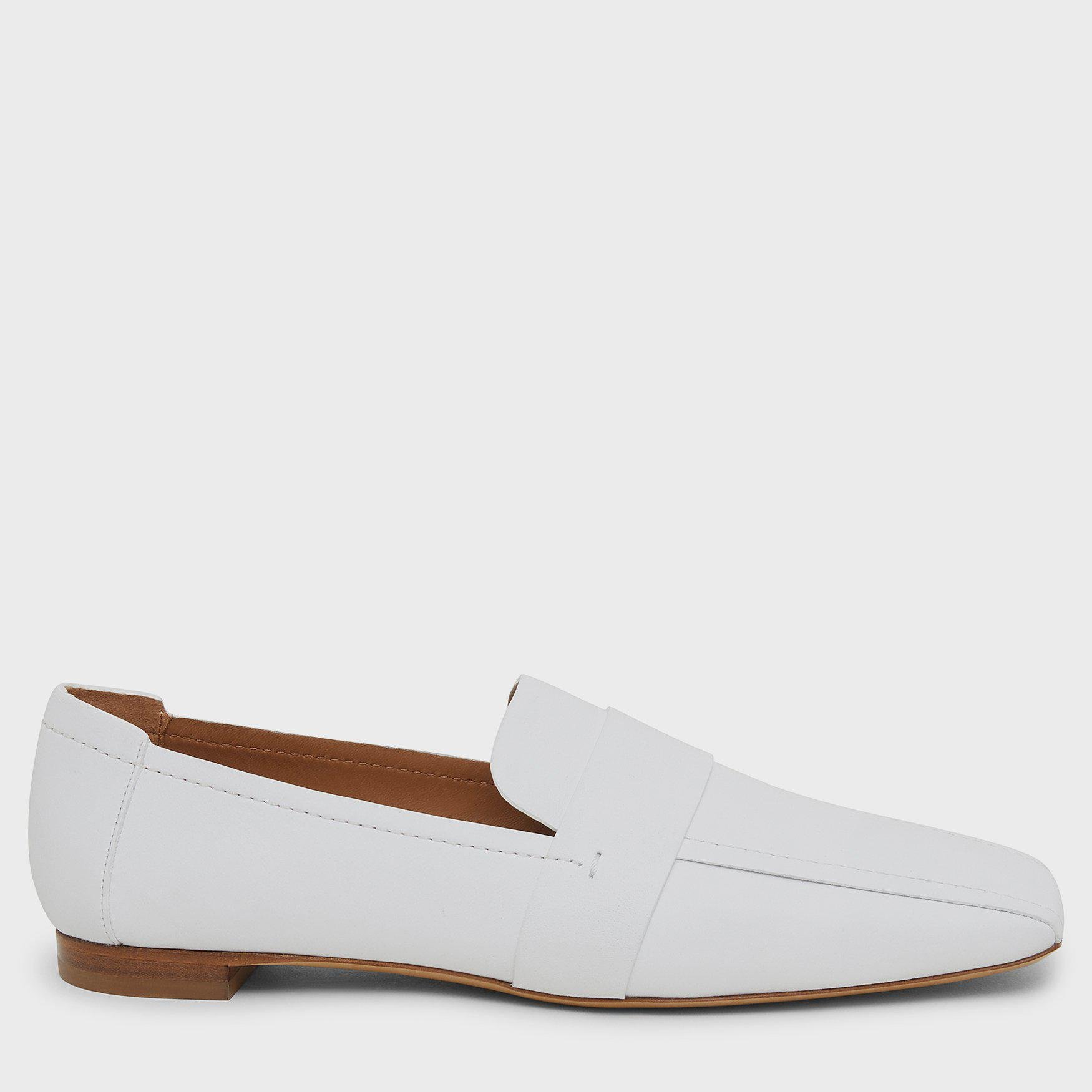 Square Toe Loafer - Snow