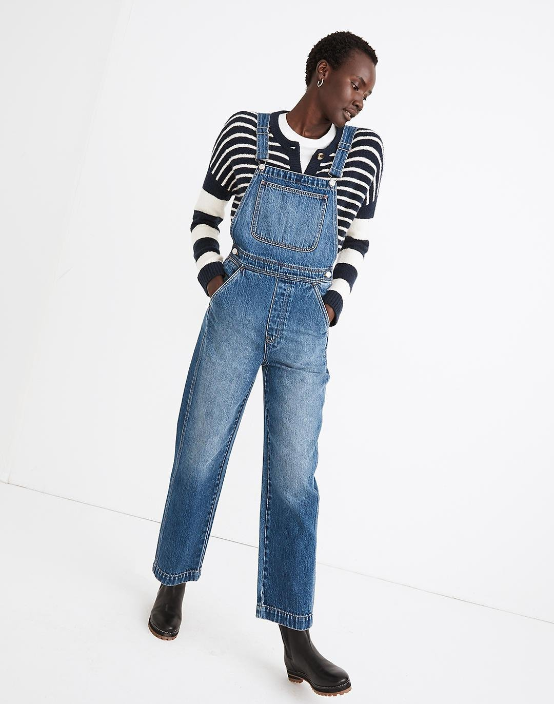 Relaxed Overalls in Irwell Wash