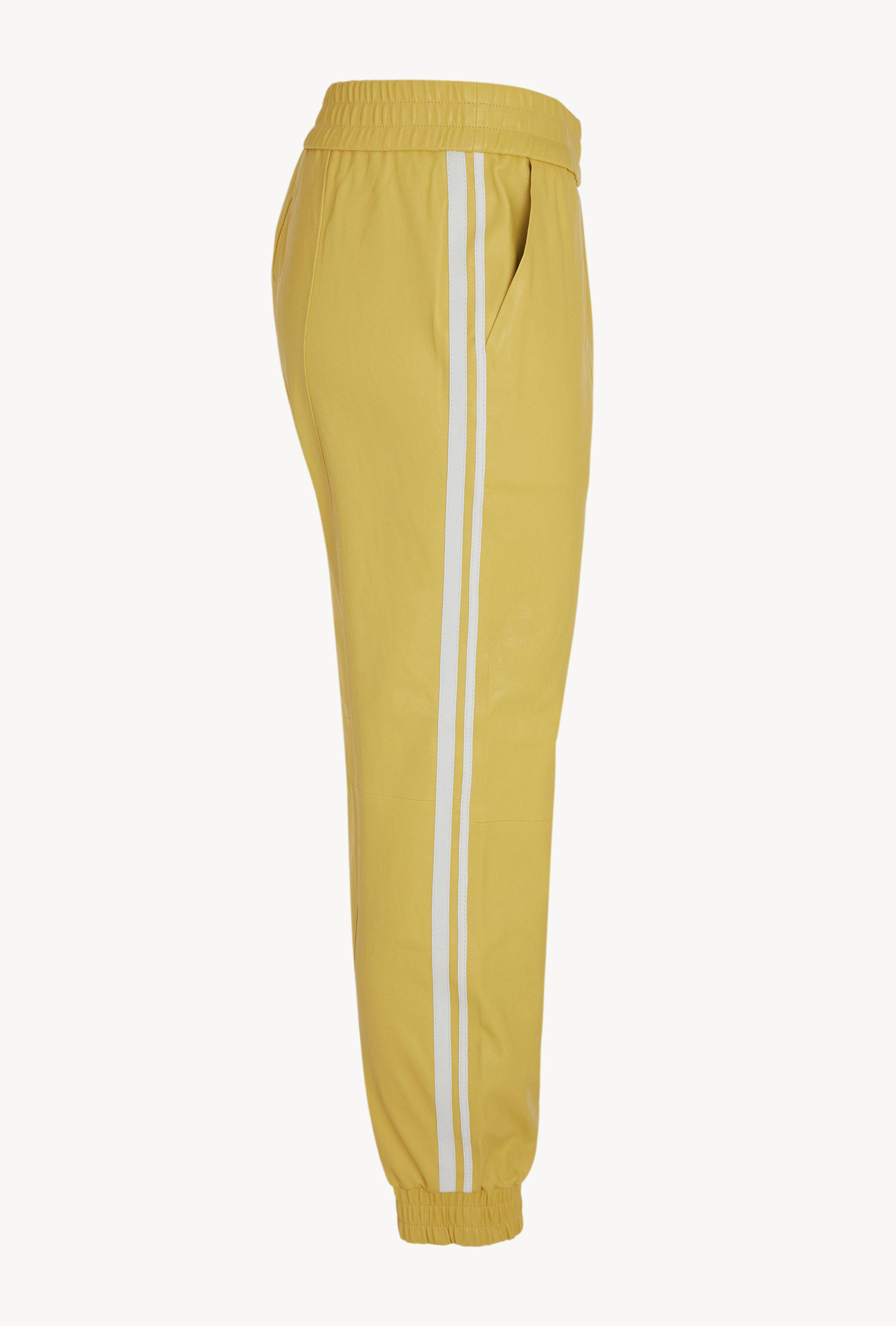 Butter Athletic Slim Fit Leather Jogger