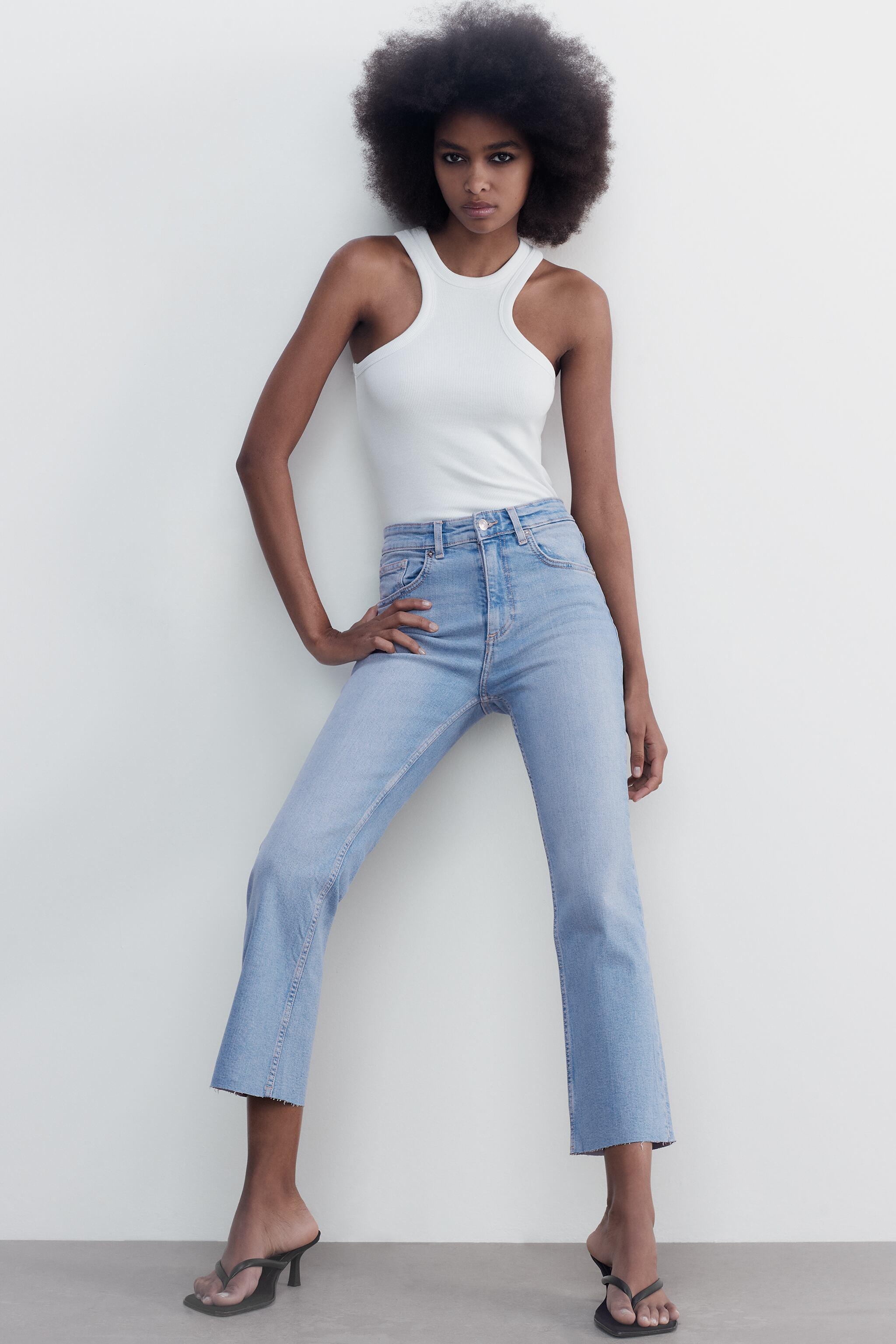 CROPPED FLARE JEANS 2
