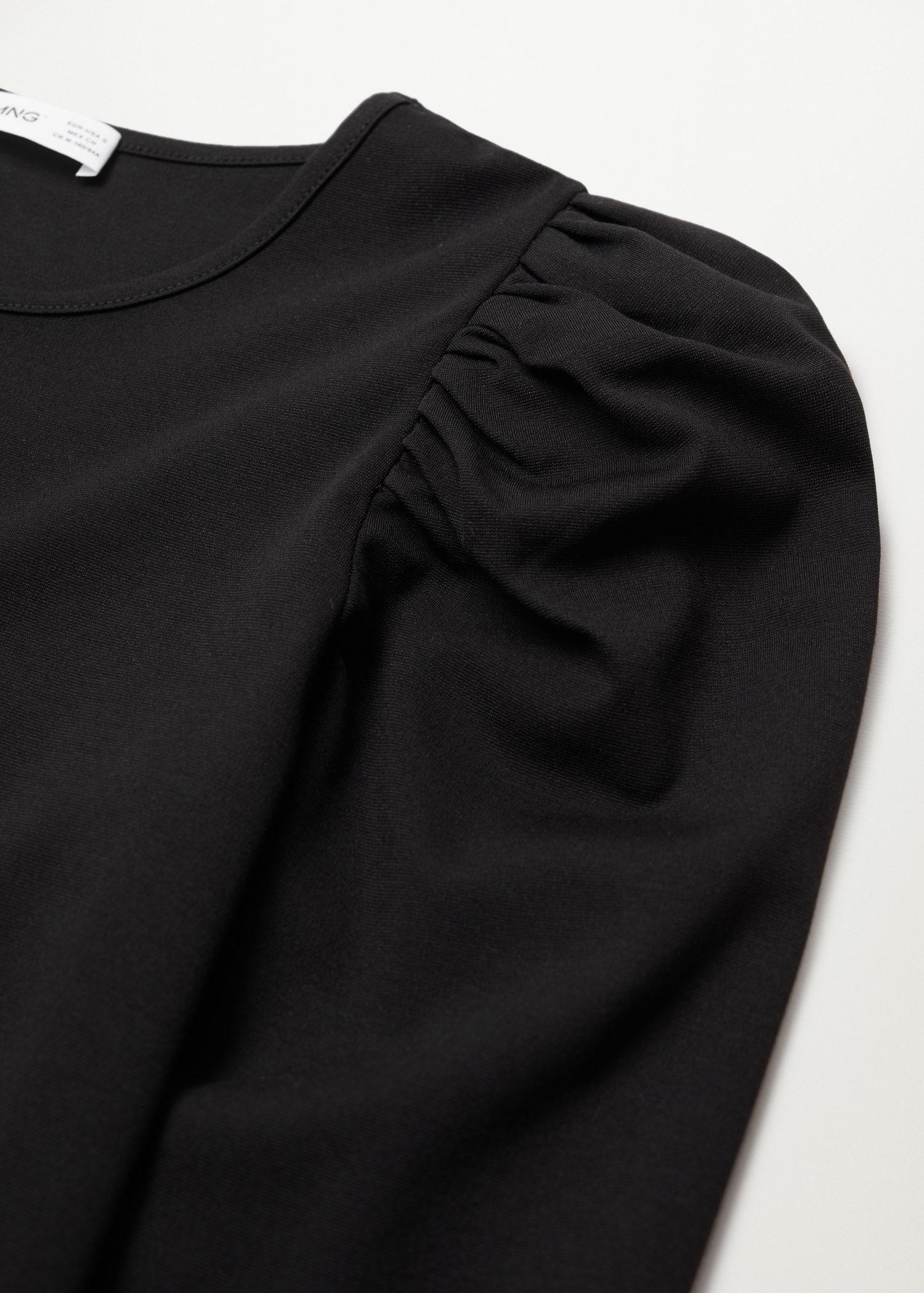 T-shirt with puffed sleeves 6