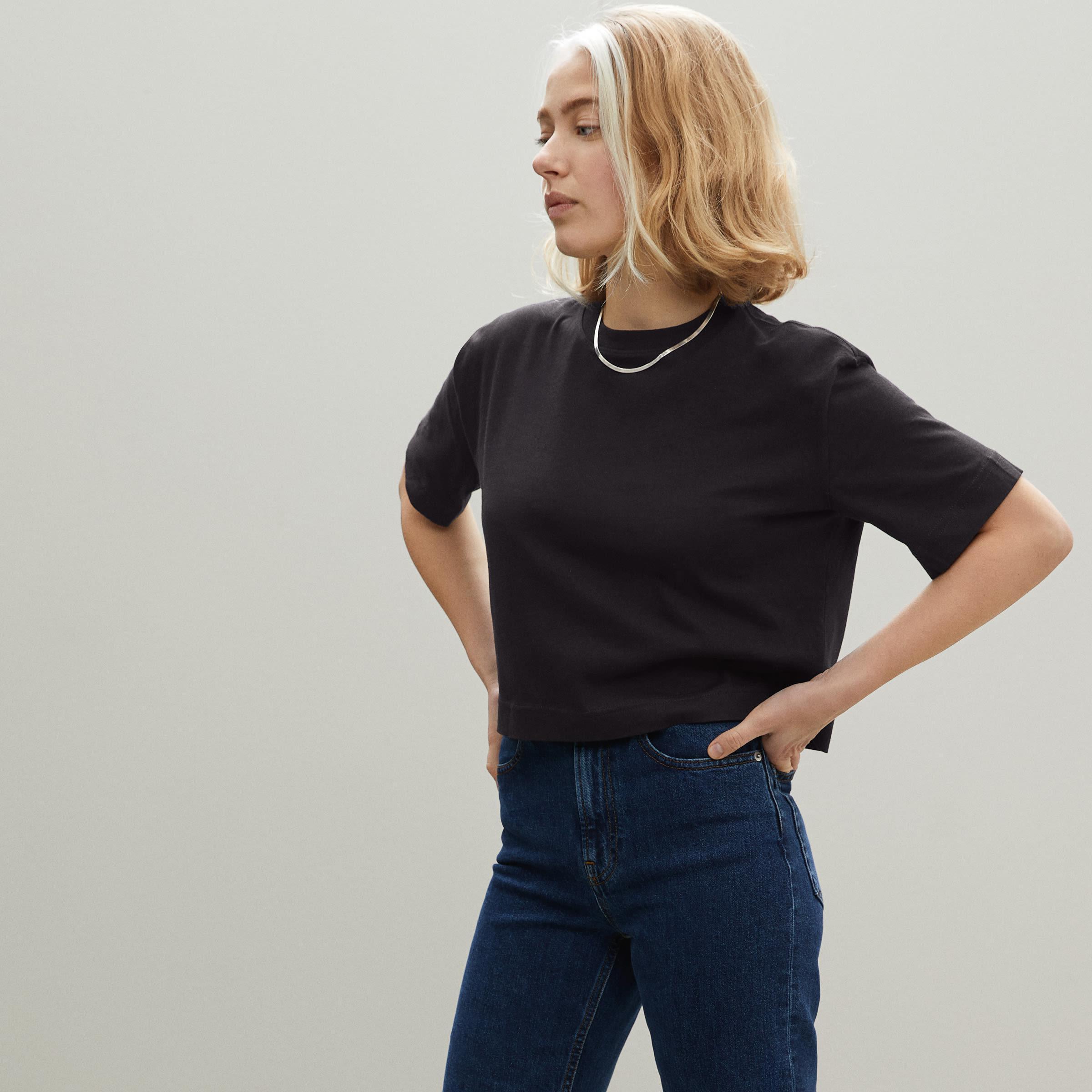 The Organic Cotton Cropped Tee