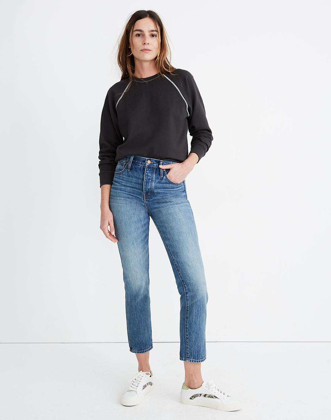 Tall Rigid Stovepipe Jeans in Portsmouth Wash