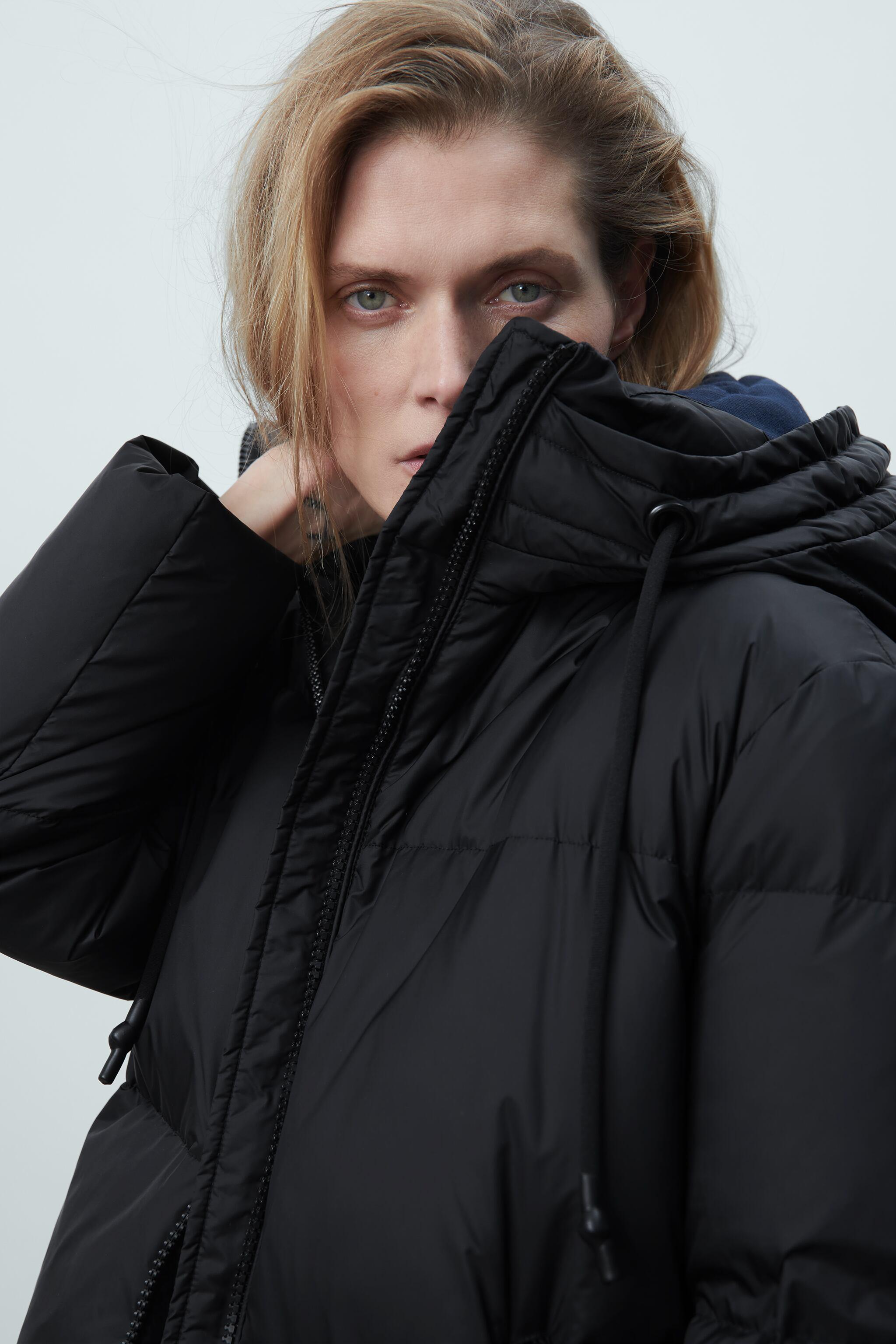 WATER AND WIND PROTECTION OVERSIZED DOWN COAT 2