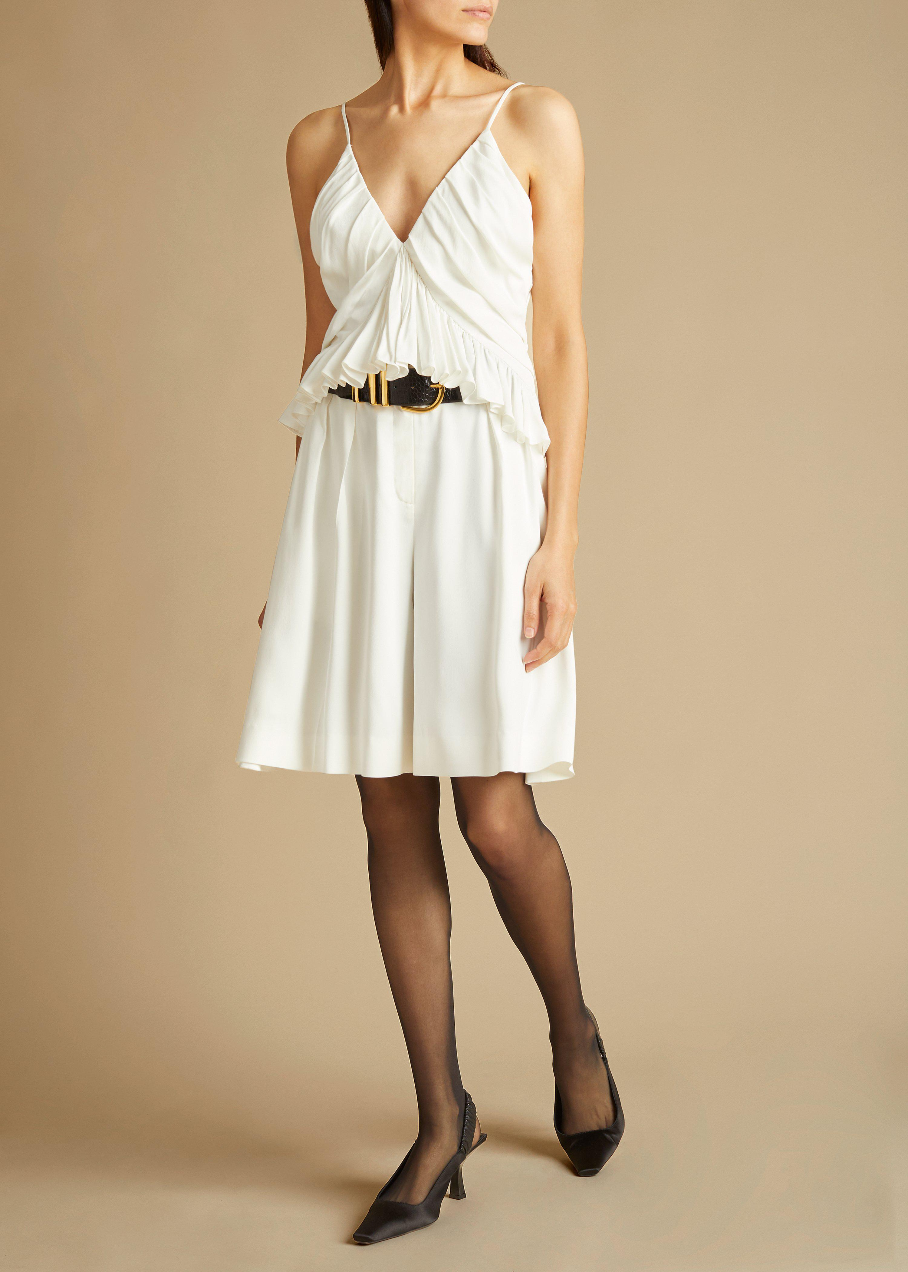 The Isabelle Short in Ivory
