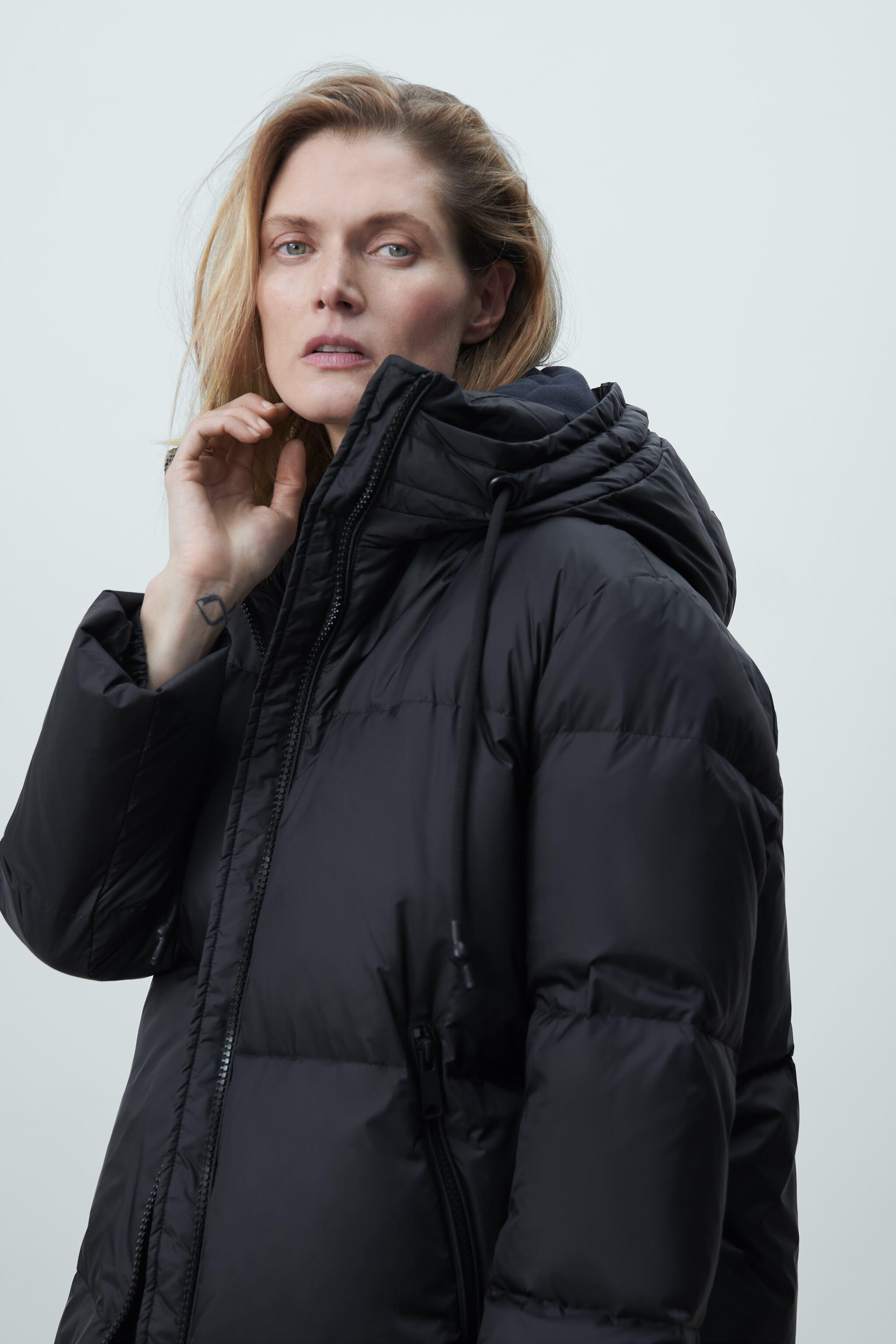 WATER AND WIND PROTECTION OVERSIZED DOWN COAT 1