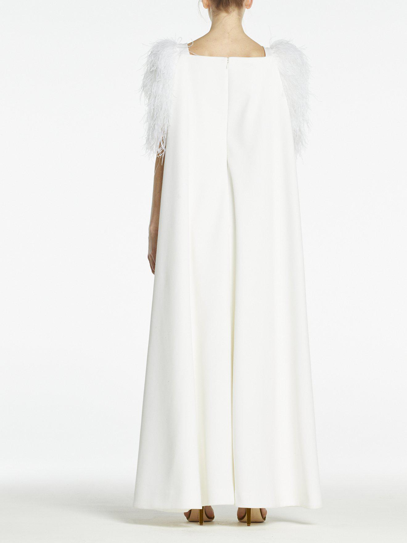 HORTENSE GOWN PURE WHITE CREPE 3