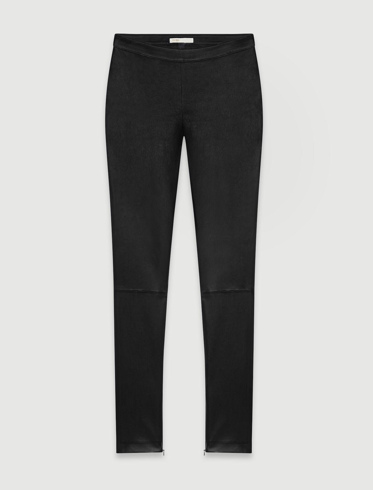 HIGH WAISTED LEATHER LEGGING 4