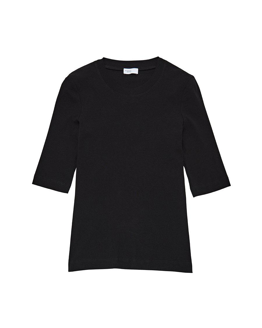 Cropped Sleeve T-Shirt 5